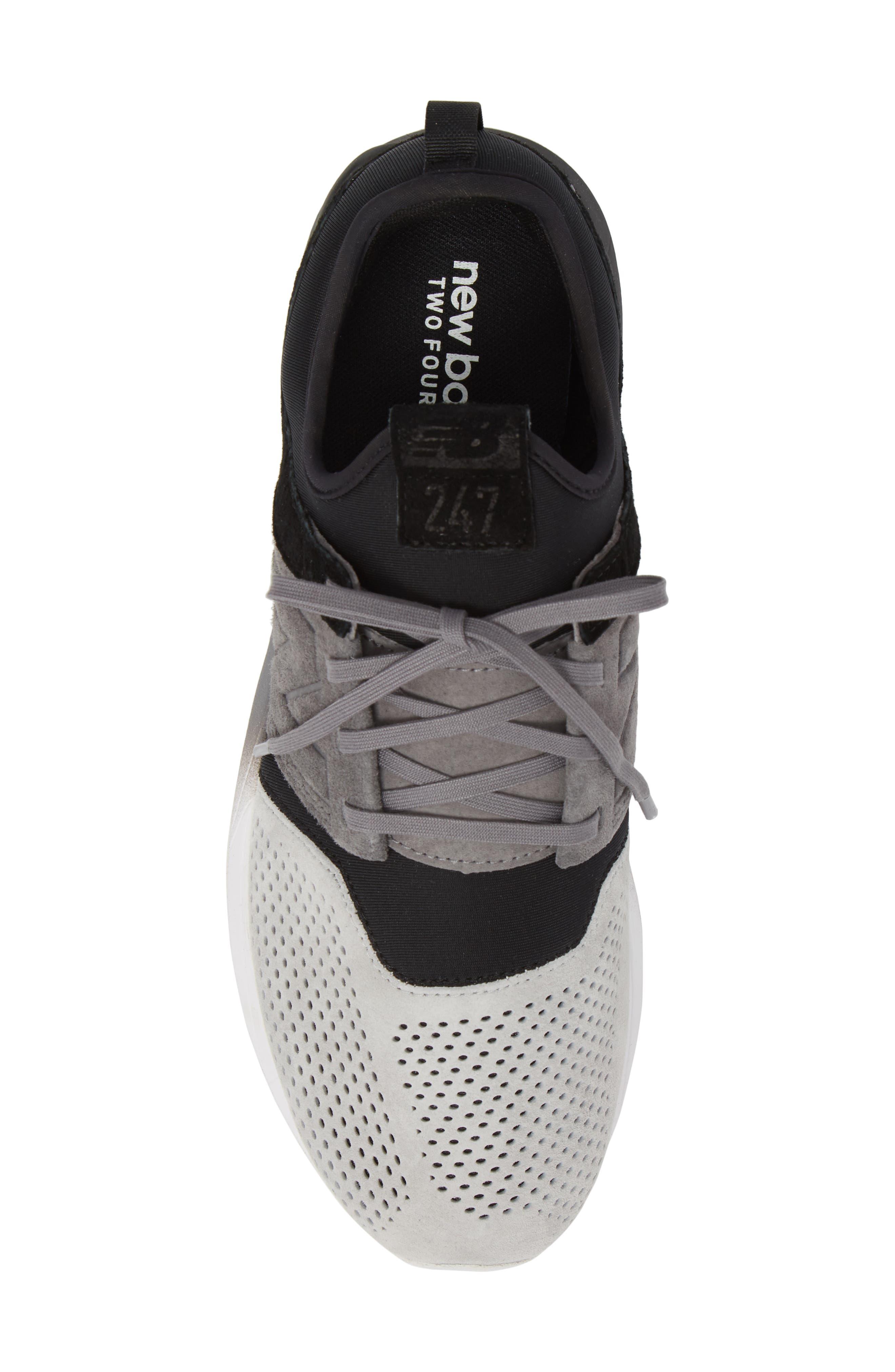 NEW BALANCE,                             247 Sport Sneaker,                             Alternate thumbnail 5, color,                             001