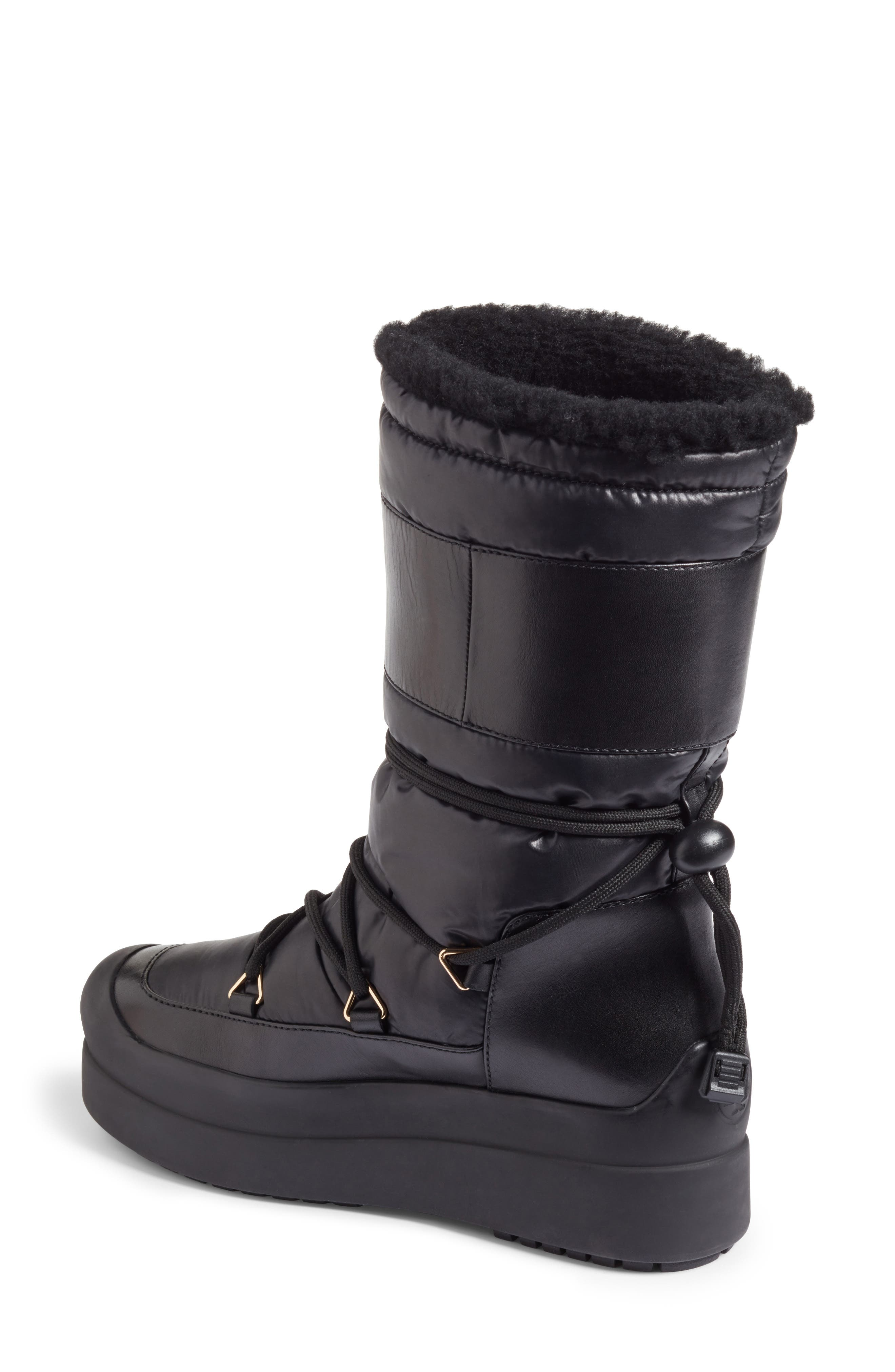 Cliff Genuine Shearling Lined Boot,                             Alternate thumbnail 2, color,