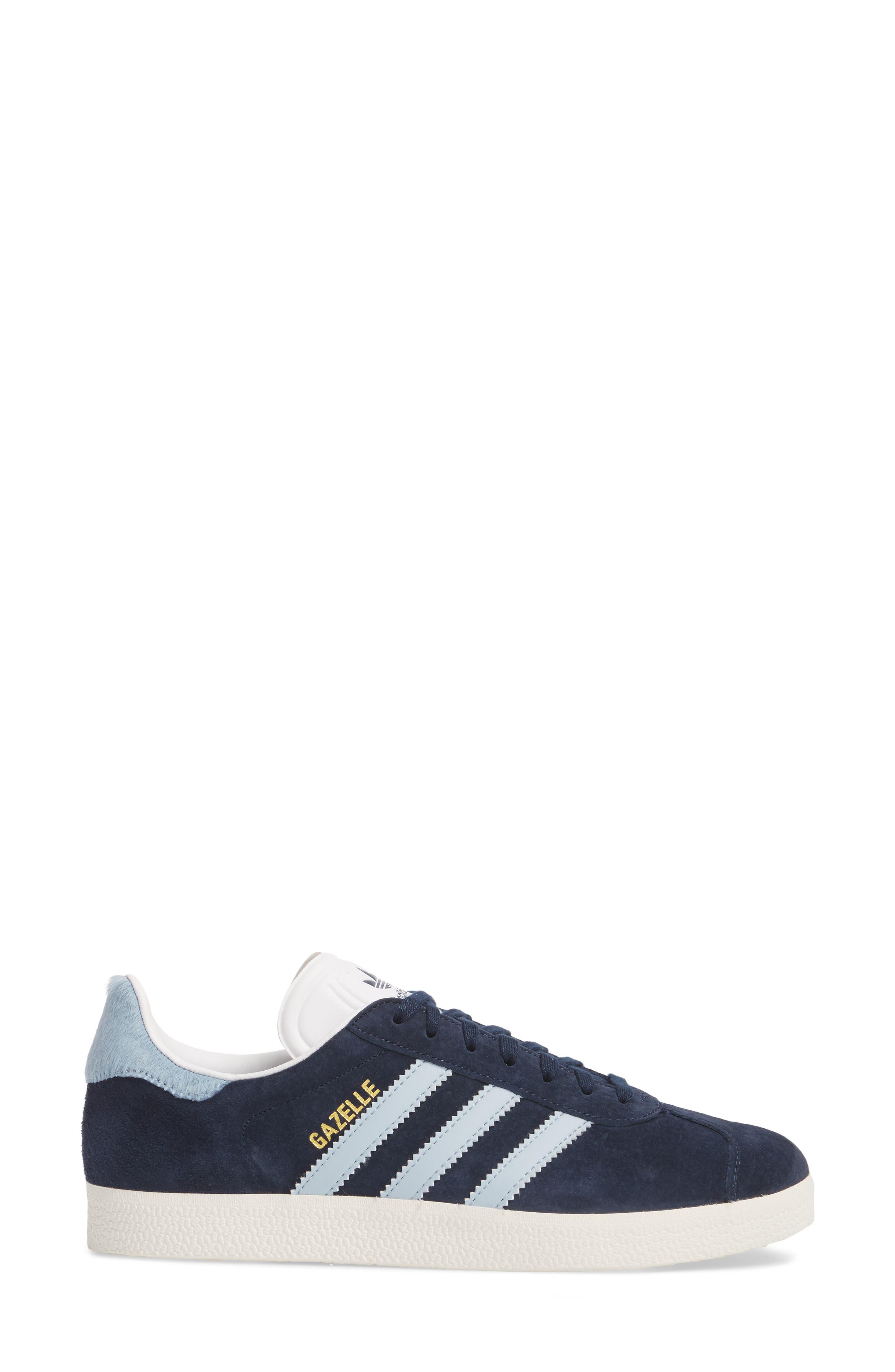 Gazelle Sneaker,                             Alternate thumbnail 3, color,                             415