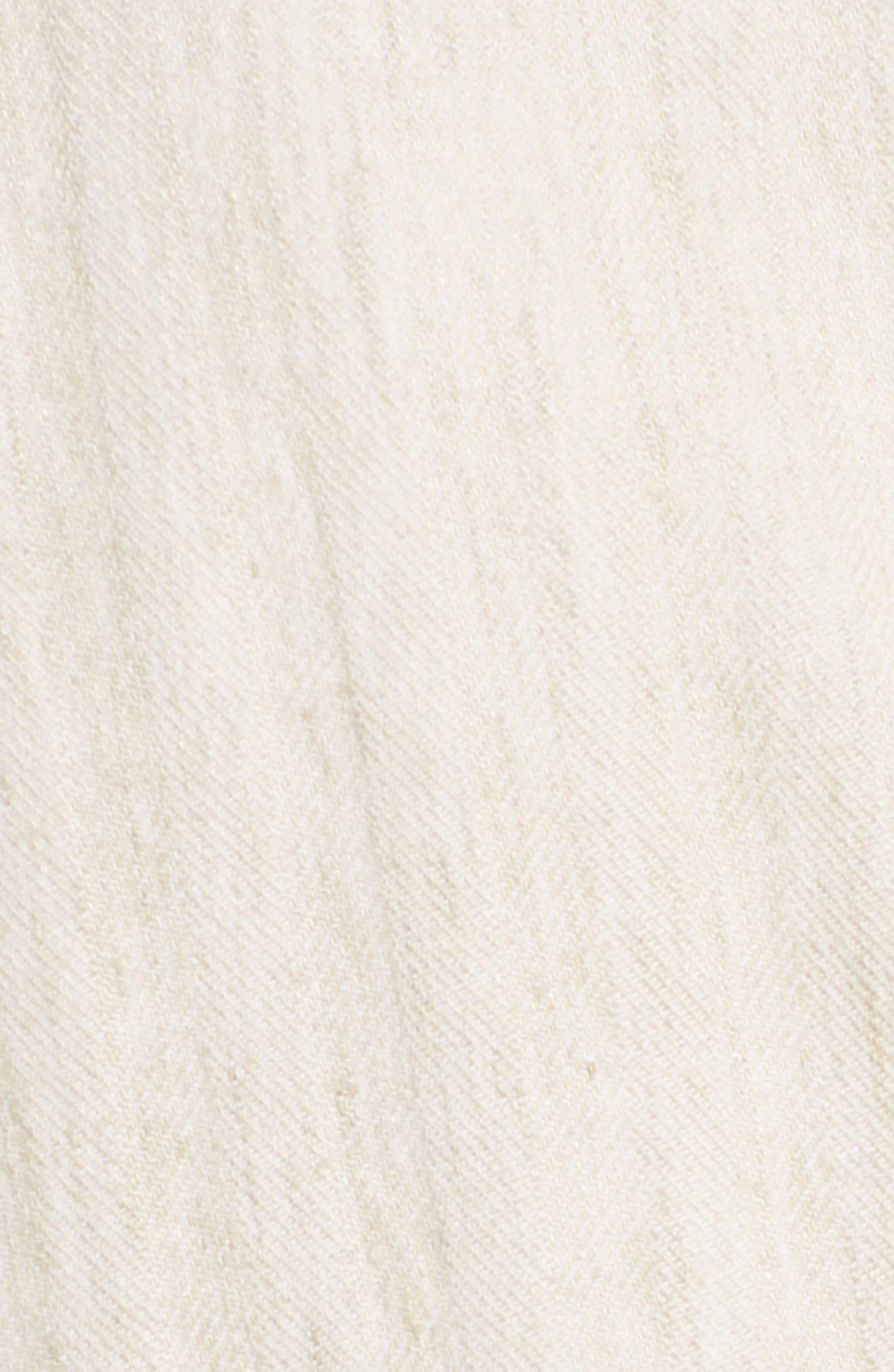 Regular Fit Herringbone Cotton & Linen Blazer,                             Alternate thumbnail 6, color,                             200