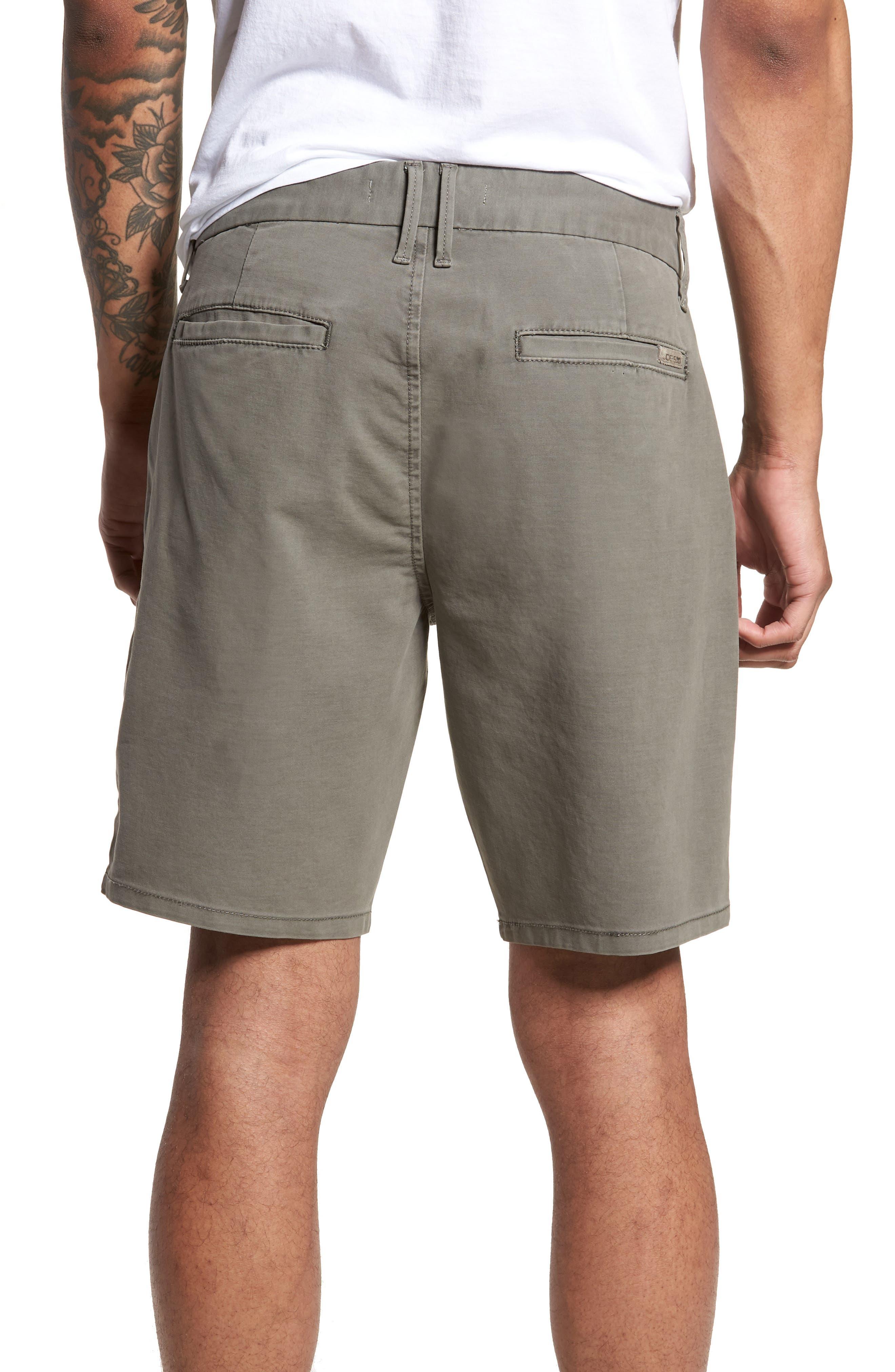 Brixton Trim Fit Straight Leg Shorts,                             Alternate thumbnail 2, color,                             020