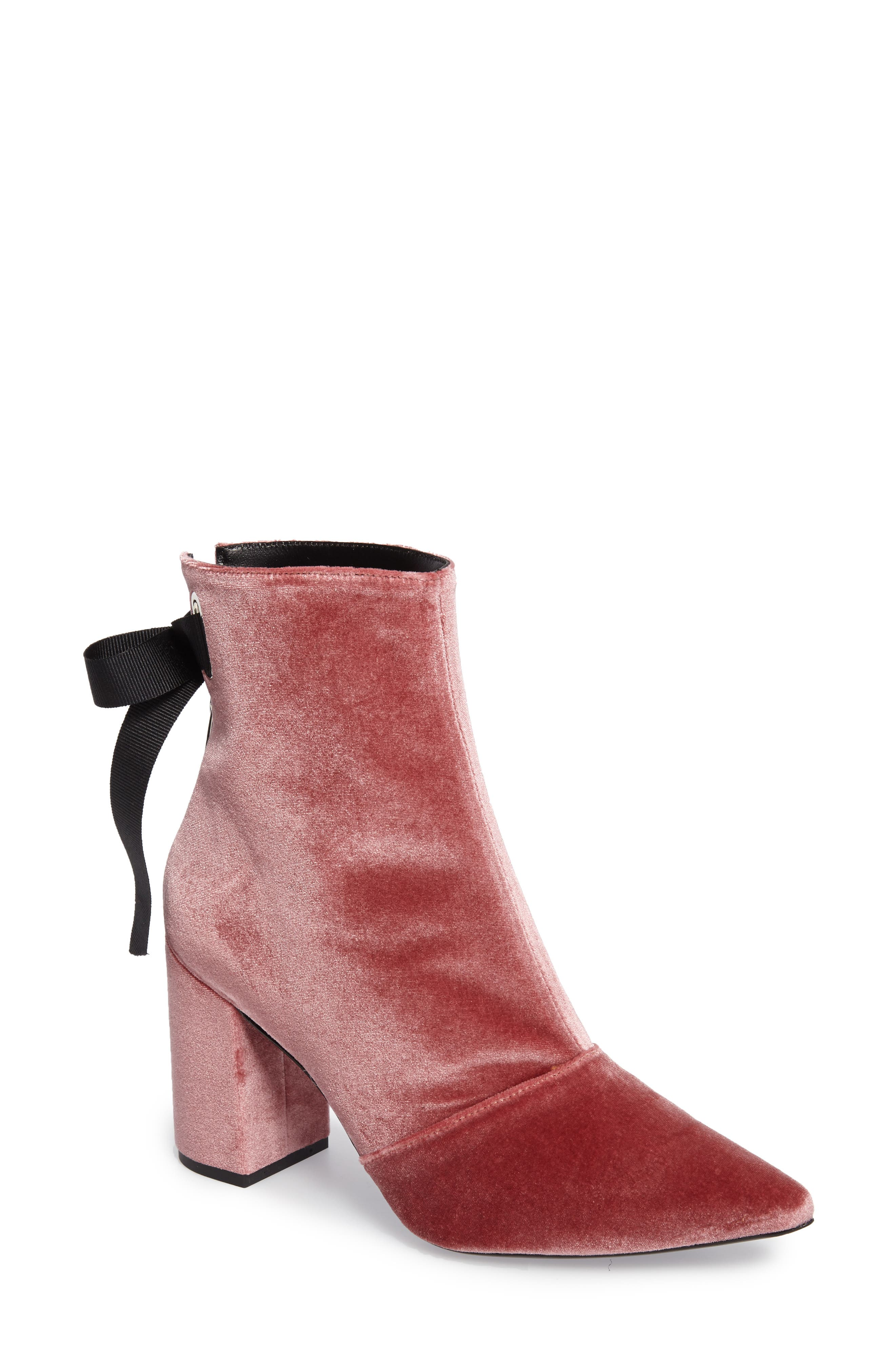 x Self-Portrait Karlit Pointy Toe Bootie,                         Main,                         color,