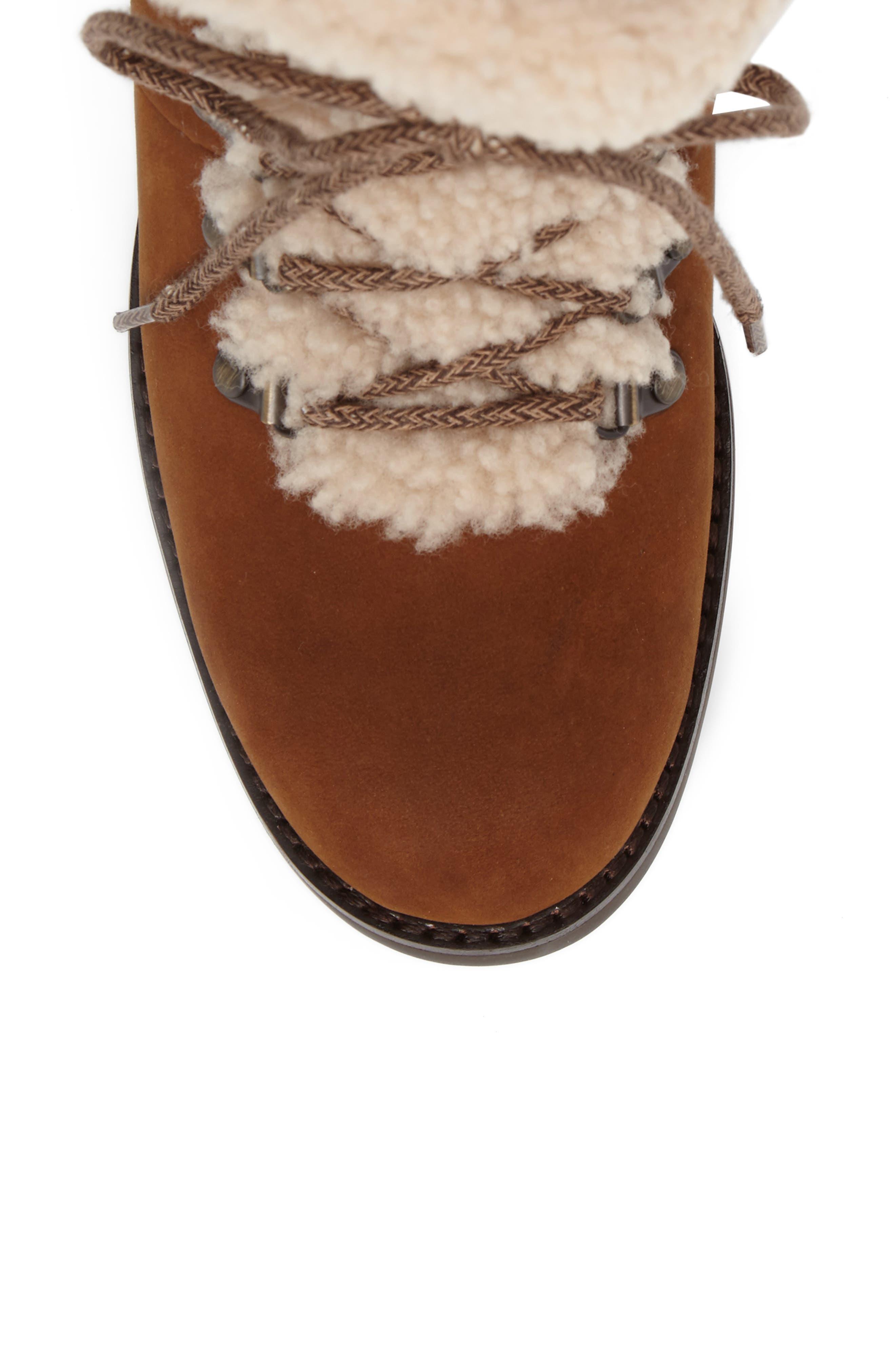 Fraser Genuine Shearling Water Resistant Boot,                             Alternate thumbnail 20, color,