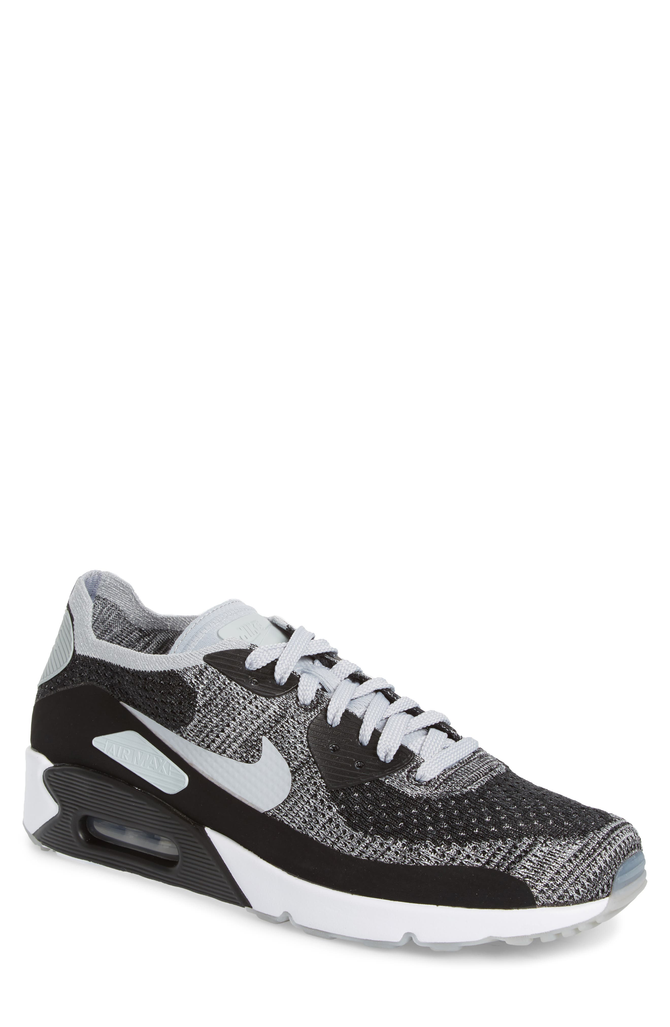 Air Max 90 Ultra 2.0 Flyknit Sneaker,                         Main,                         color, 005