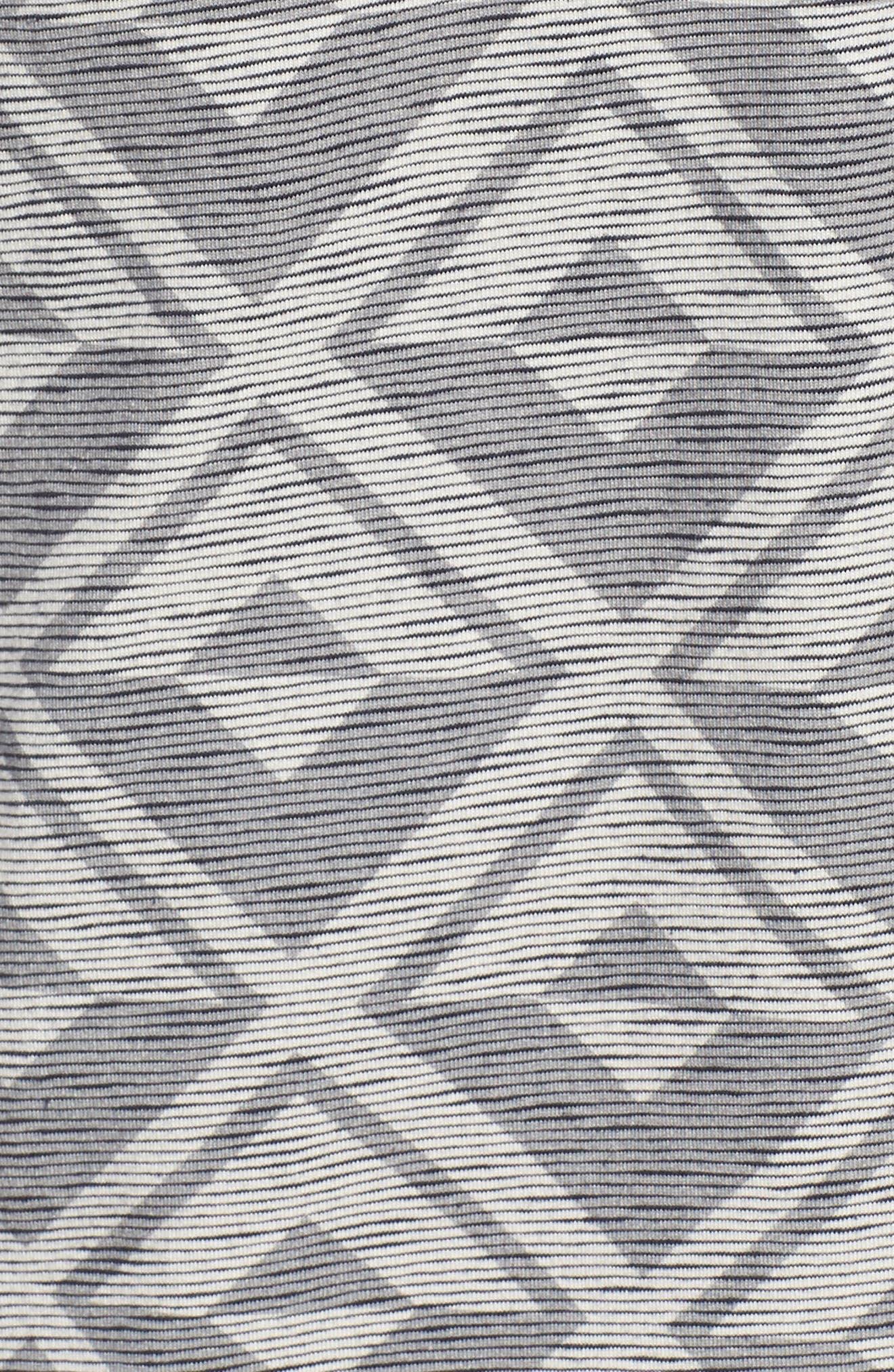 Geometric Crewneck T-Shirt,                             Alternate thumbnail 5, color,                             021