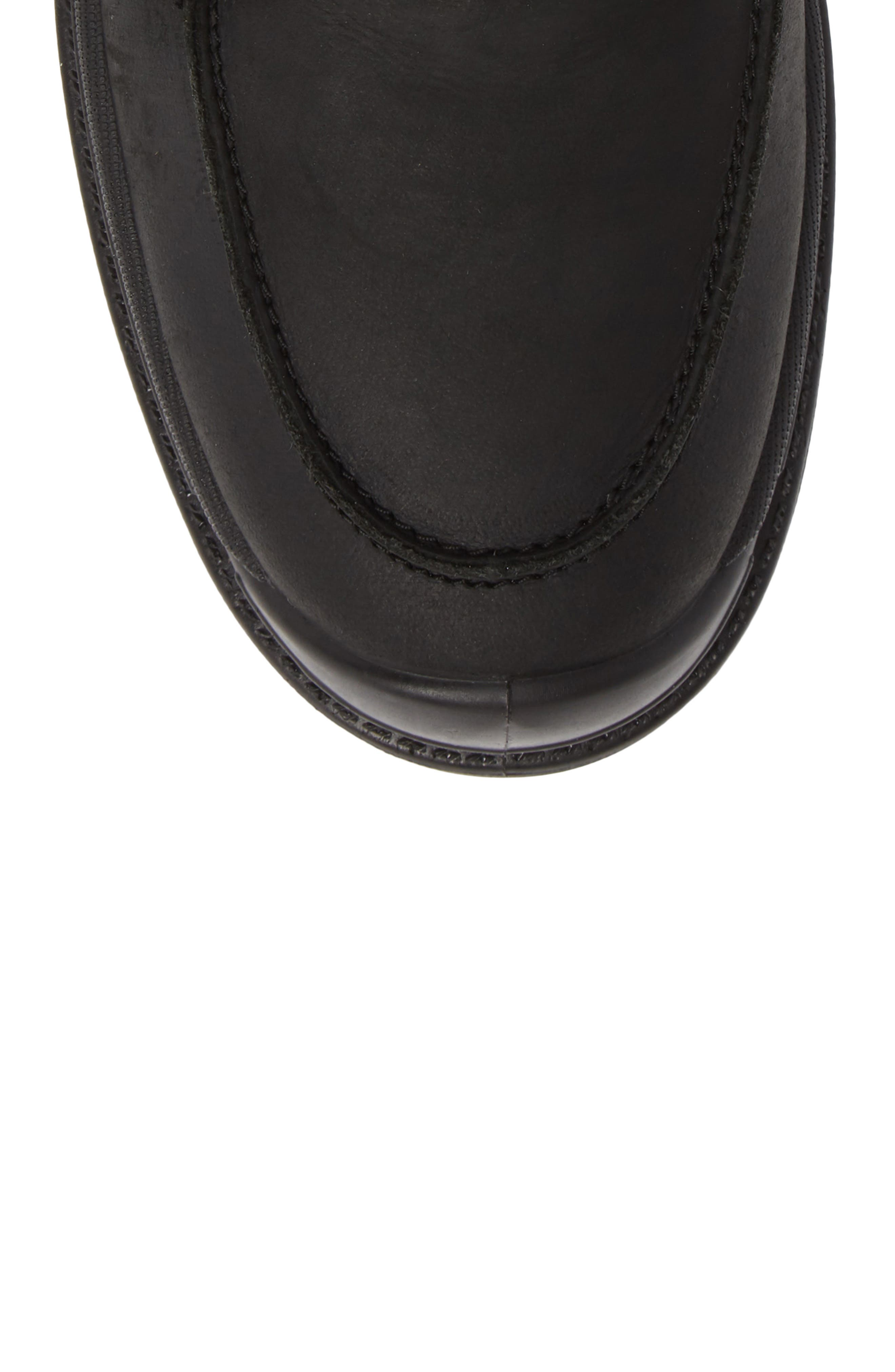 Griffon2 Snow Waterproof Boot with Faux Shearling,                             Alternate thumbnail 5, color,                             BLACK/ BLACK LEATHER