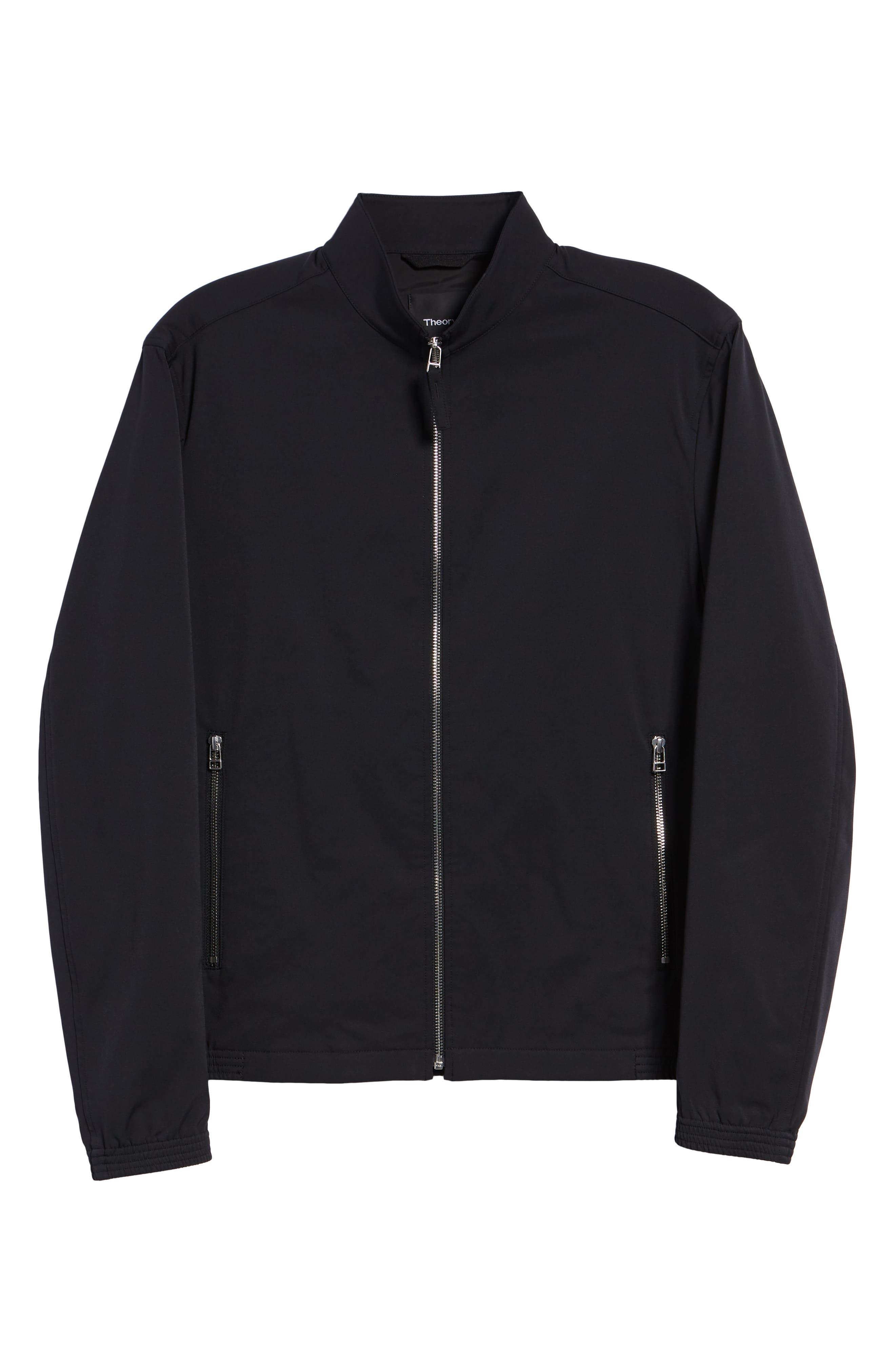 Tremont Neoteric Regular Fit Jacket,                             Alternate thumbnail 5, color,                             BLACK