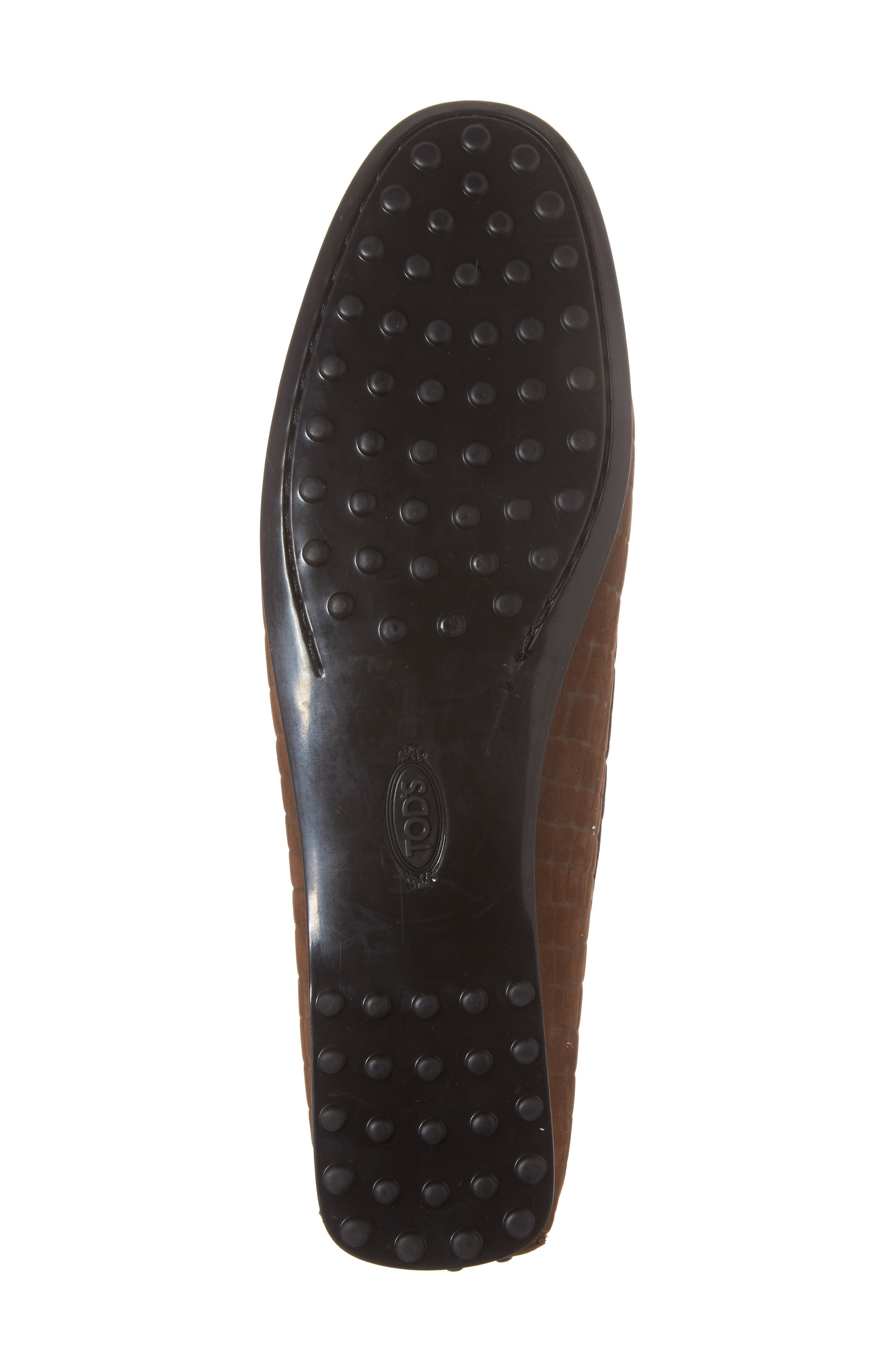 Tods Croc Embossed Double T Loafer,                             Alternate thumbnail 6, color,                             249