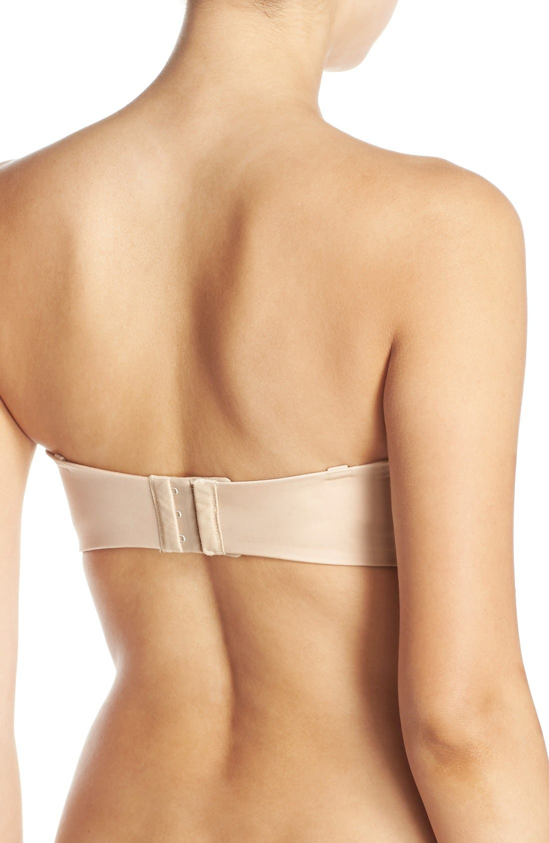 Amazing Assets Convertible Underwire Push-Up Bra,                             Alternate thumbnail 3, color,                             NATURALLY NUDE