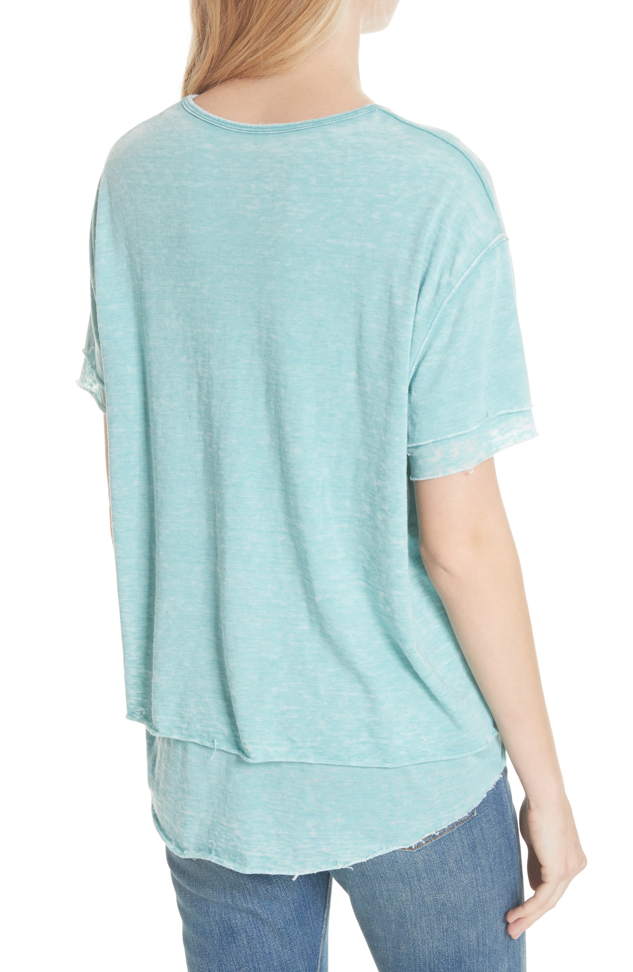 We the Free by Free People Cloud Nine Tee,                             Alternate thumbnail 10, color,