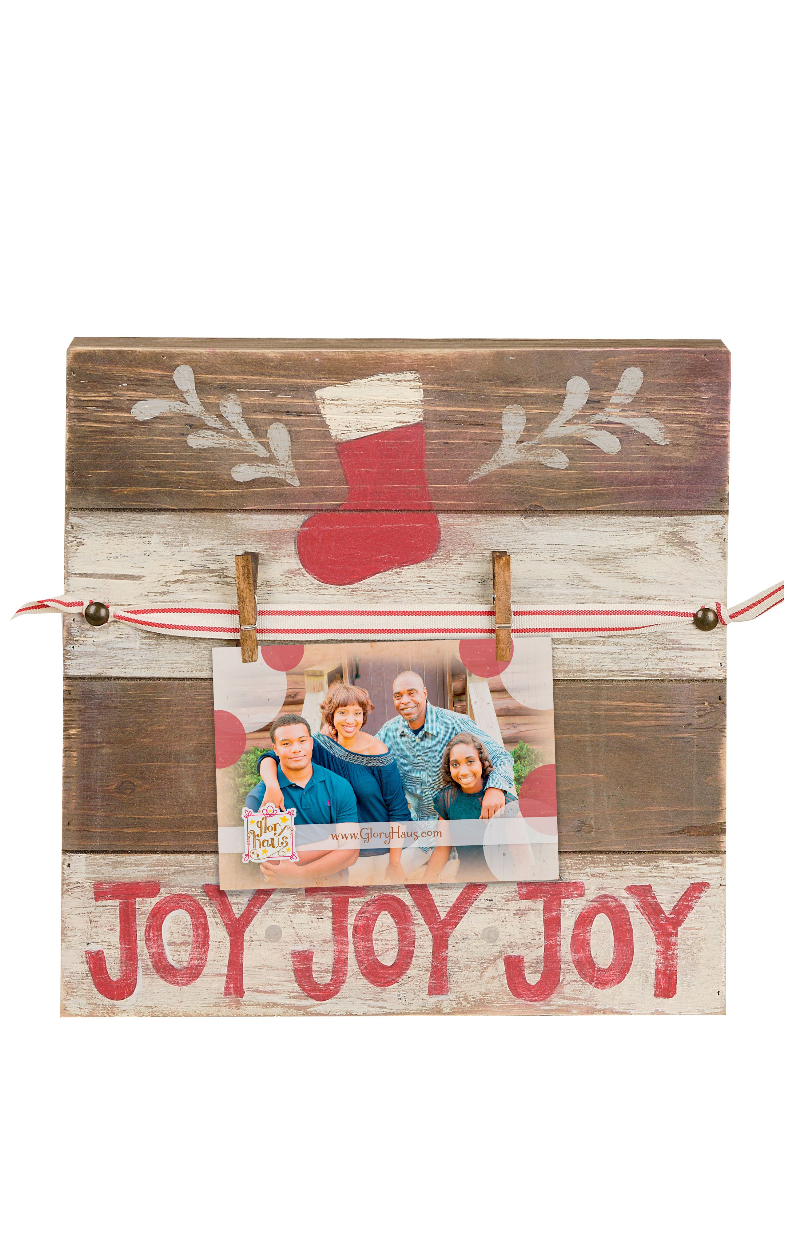 Joy Wood Picture Display,                         Main,                         color, 900