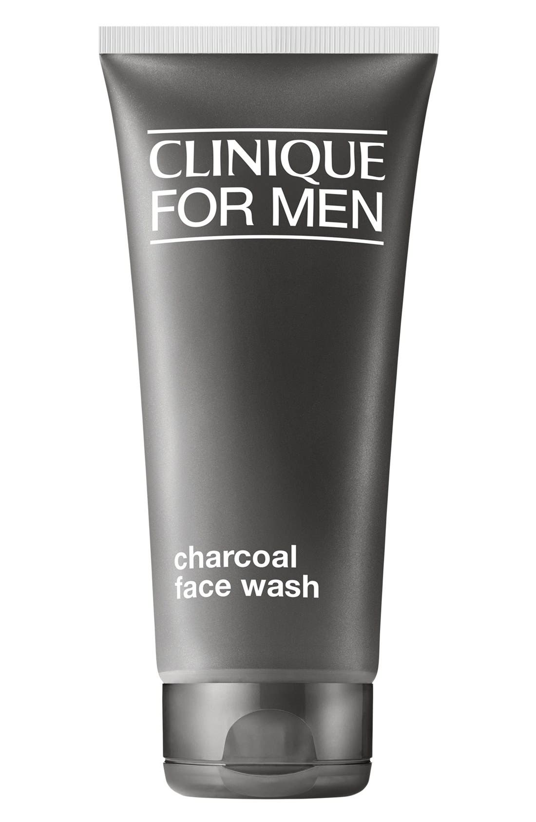 for Men Charcoal Face Wash,                             Main thumbnail 1, color,                             000