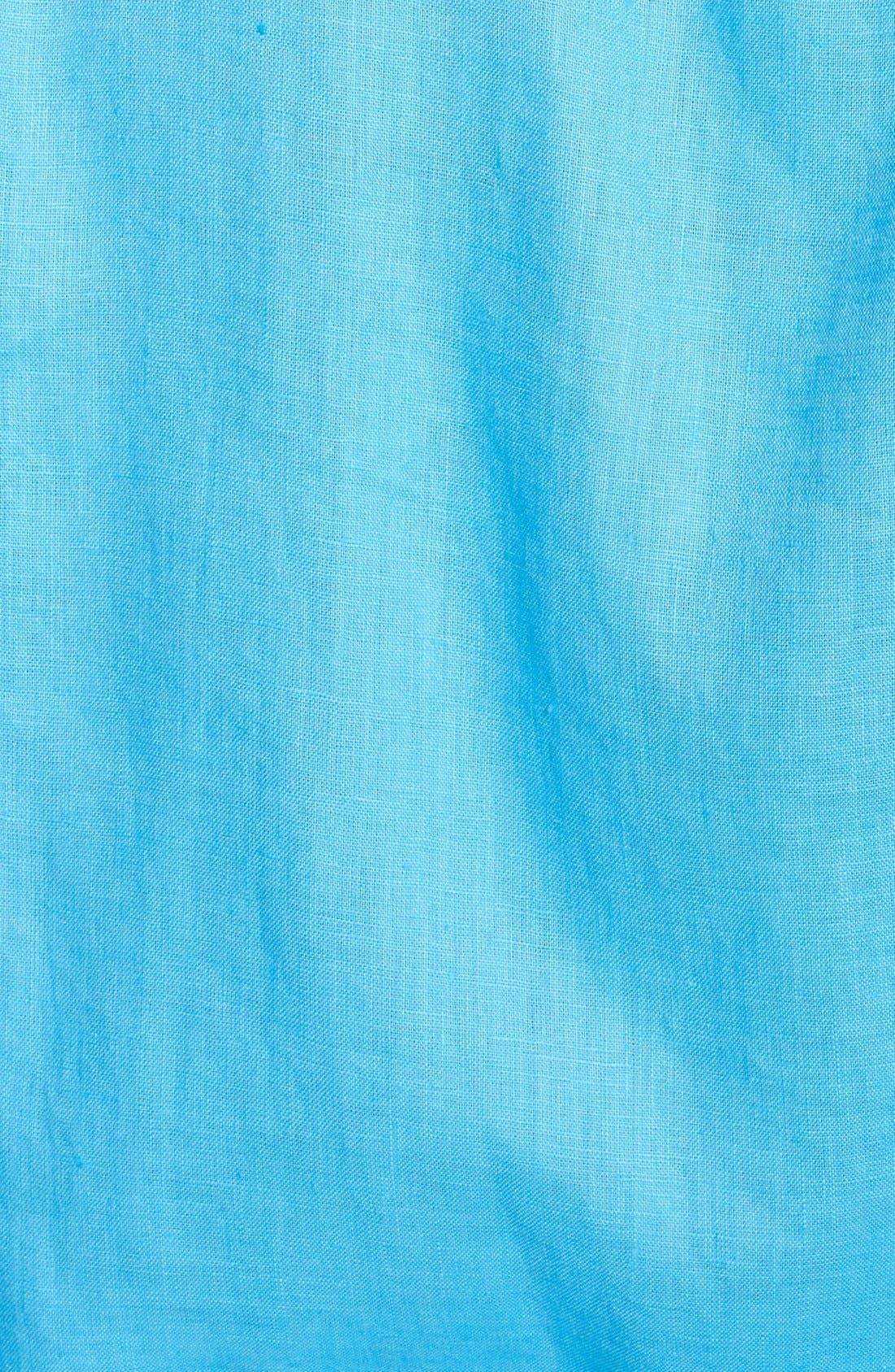 'Caroubier' Linen Shirt,                             Alternate thumbnail 45, color,