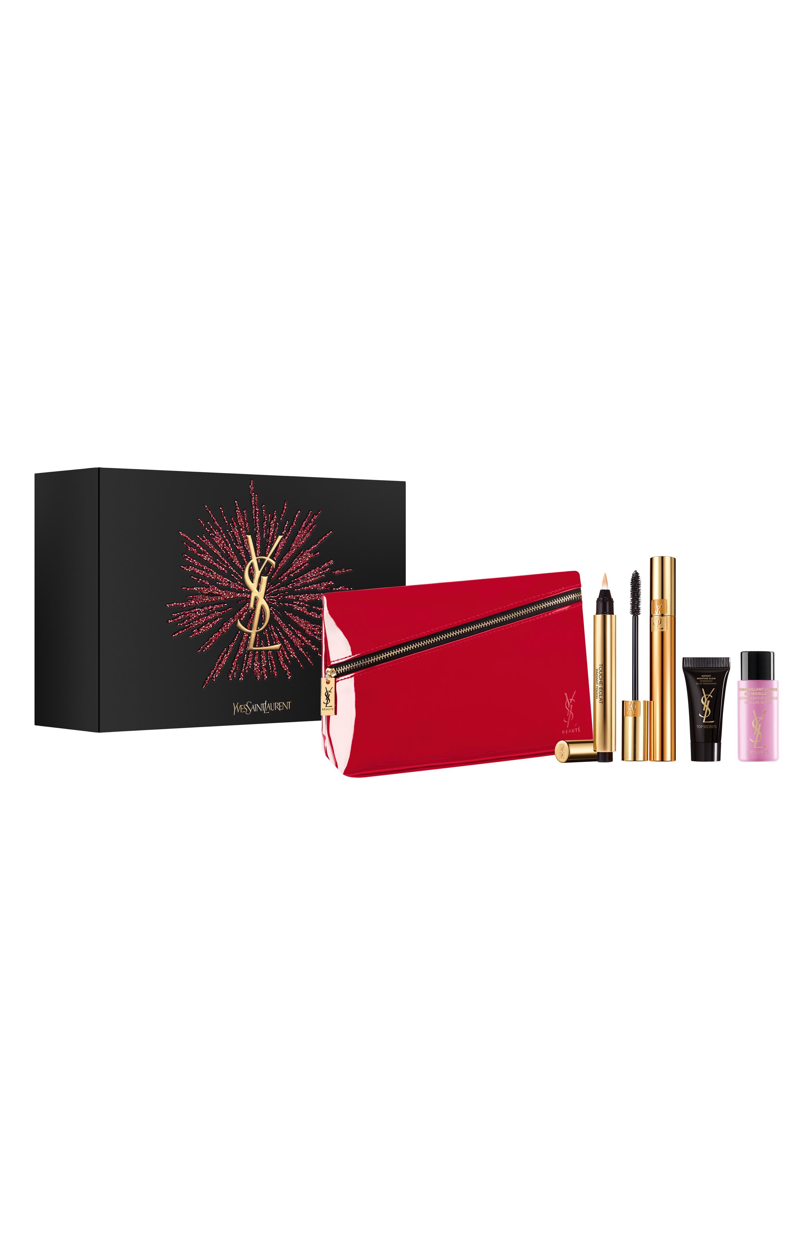 Makeup Essentials Set,                             Main thumbnail 1, color,                             000
