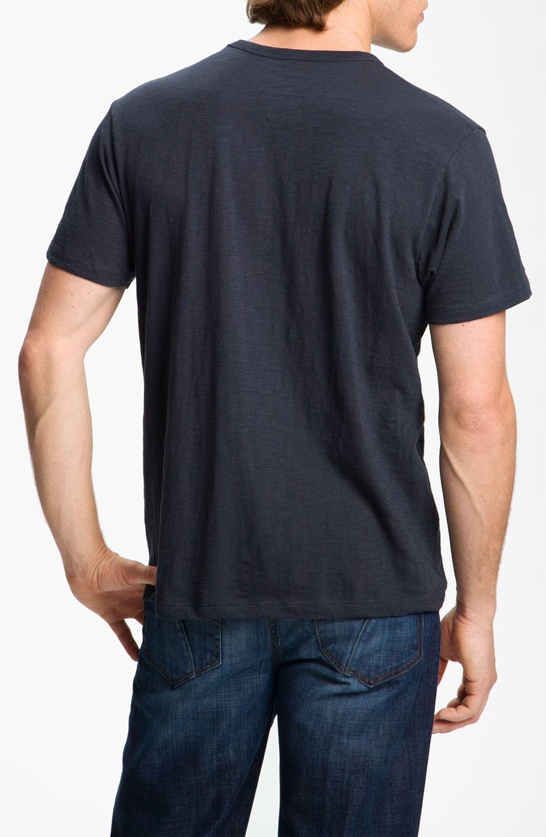 'Chicago Cubs' Regular Fit Crewneck T-Shirt,                             Alternate thumbnail 36, color,