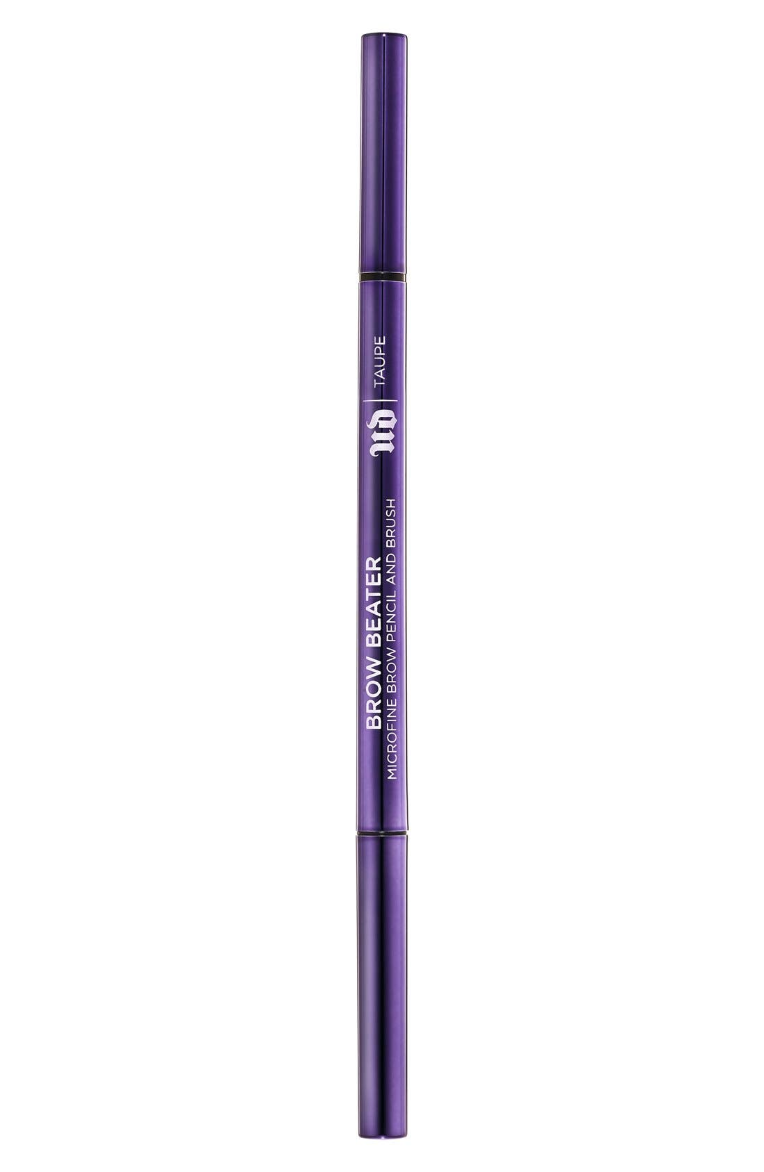 Brow Beater Microfine Brow Pencil & Brush,                             Alternate thumbnail 2, color,                             TAUPE