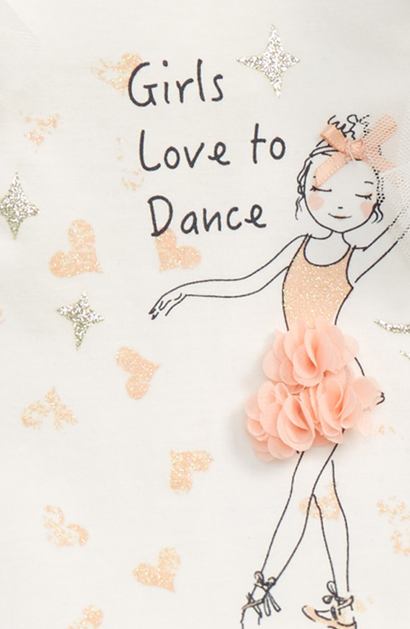 Ballerina Top & Skirt Set,                             Alternate thumbnail 2, color,                             410