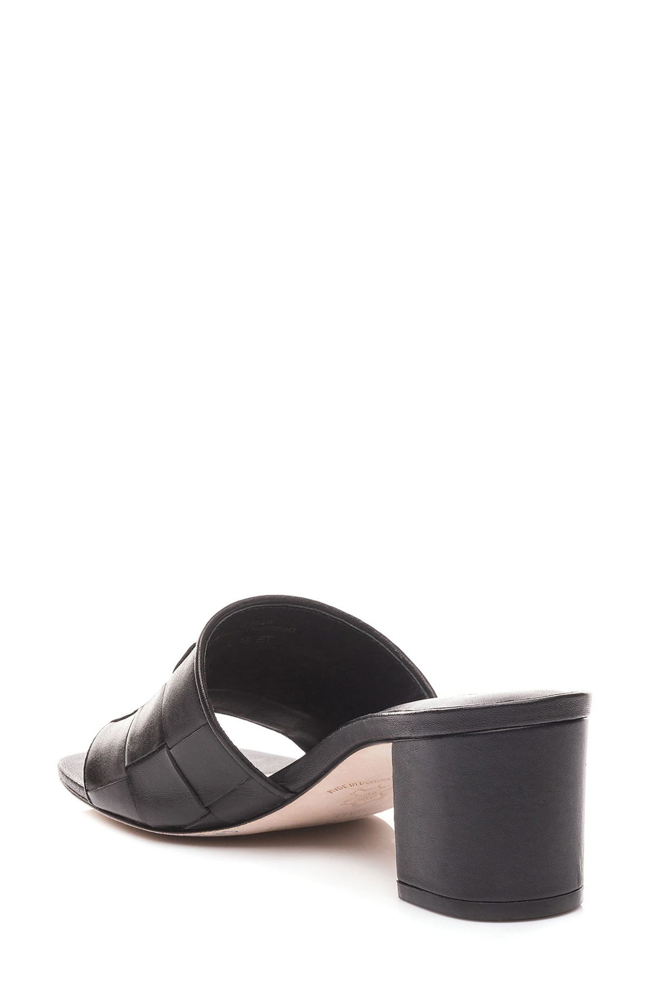 Bernardo Bridget Block Heel Sandal,                             Alternate thumbnail 2, color,                             001