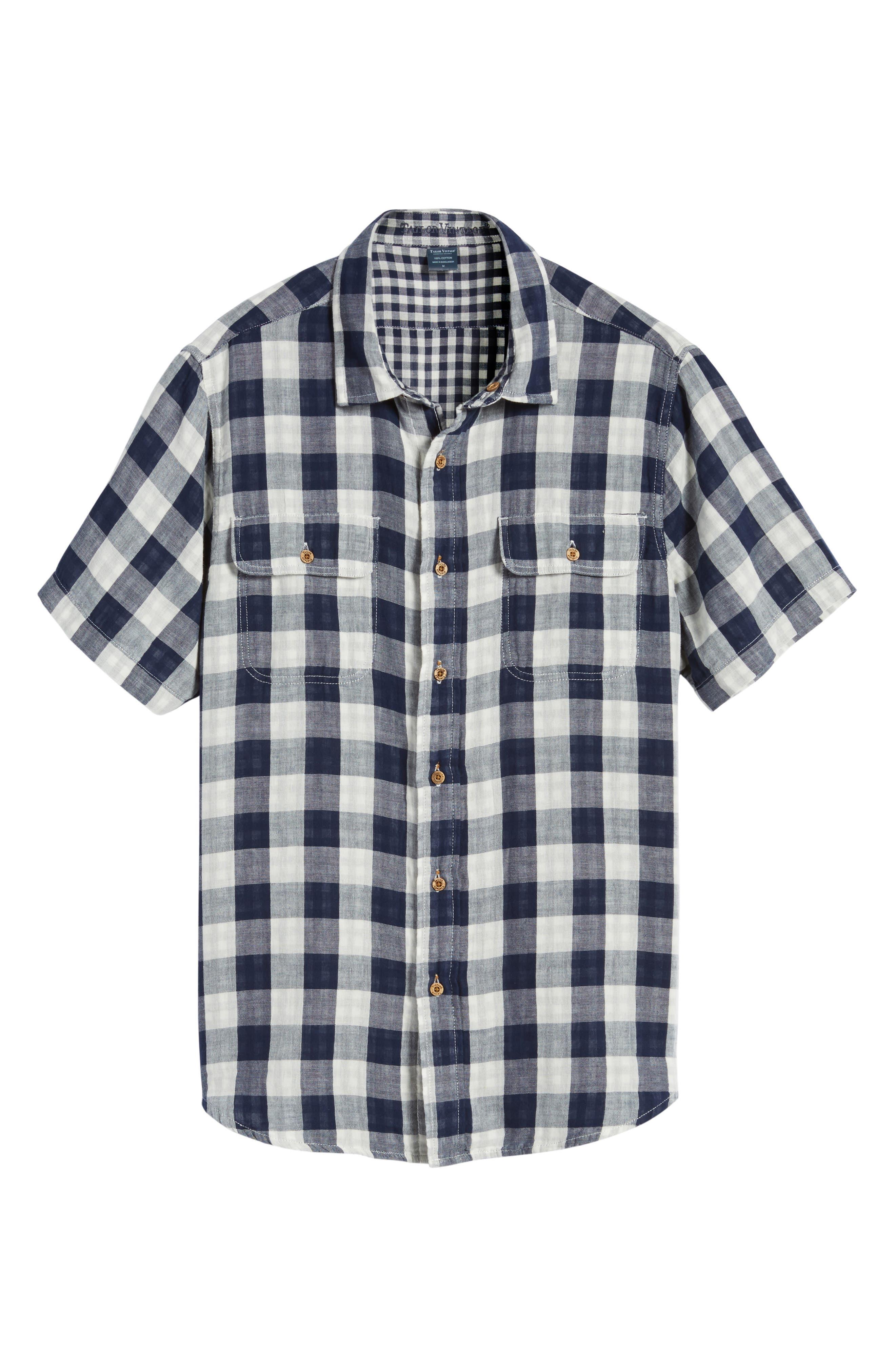 Buffalo Plaid Sport Shirt,                             Alternate thumbnail 6, color,                             415