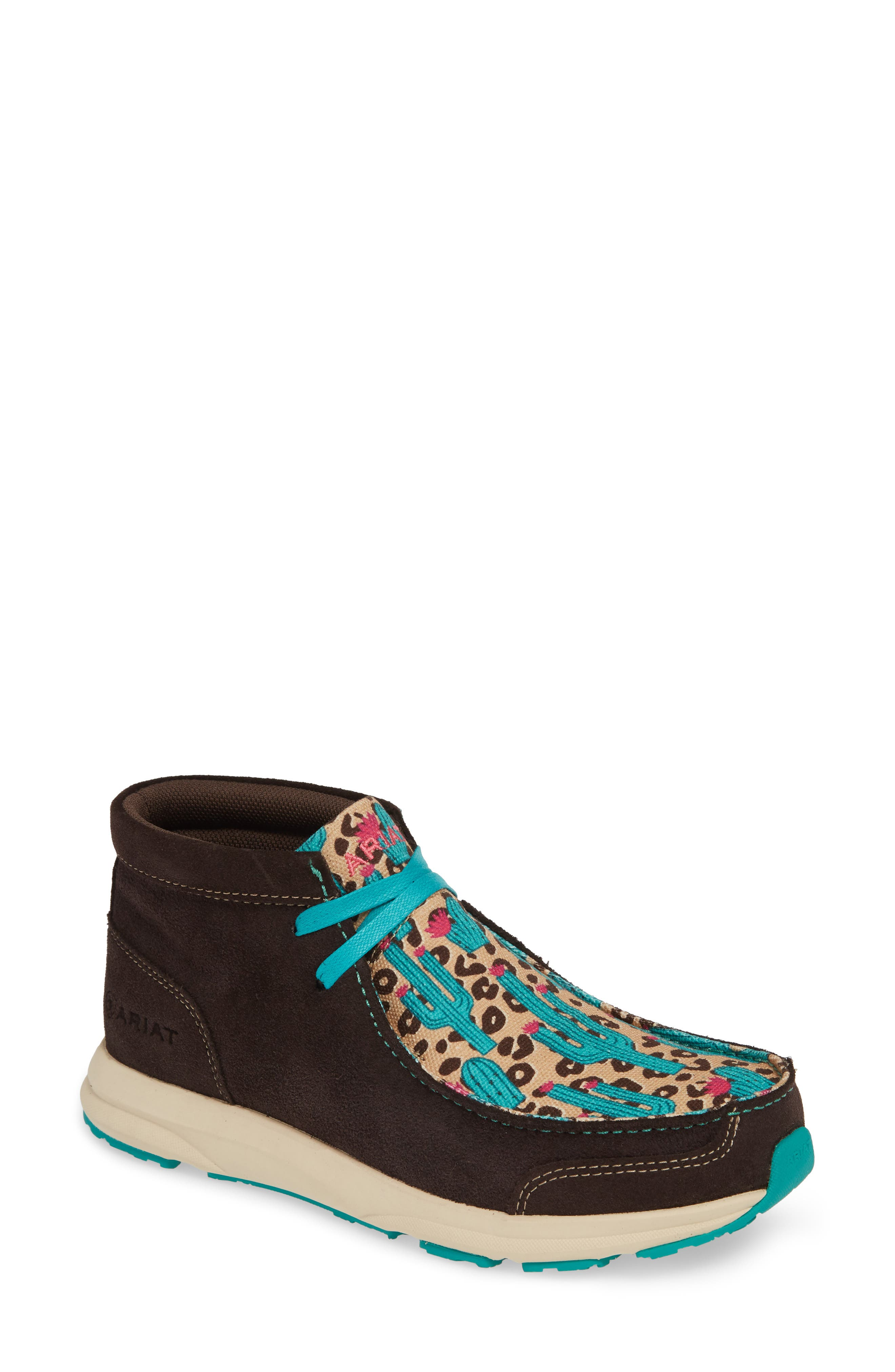 Ariat Spitfire Chukka Sneaker Bootie, Brown