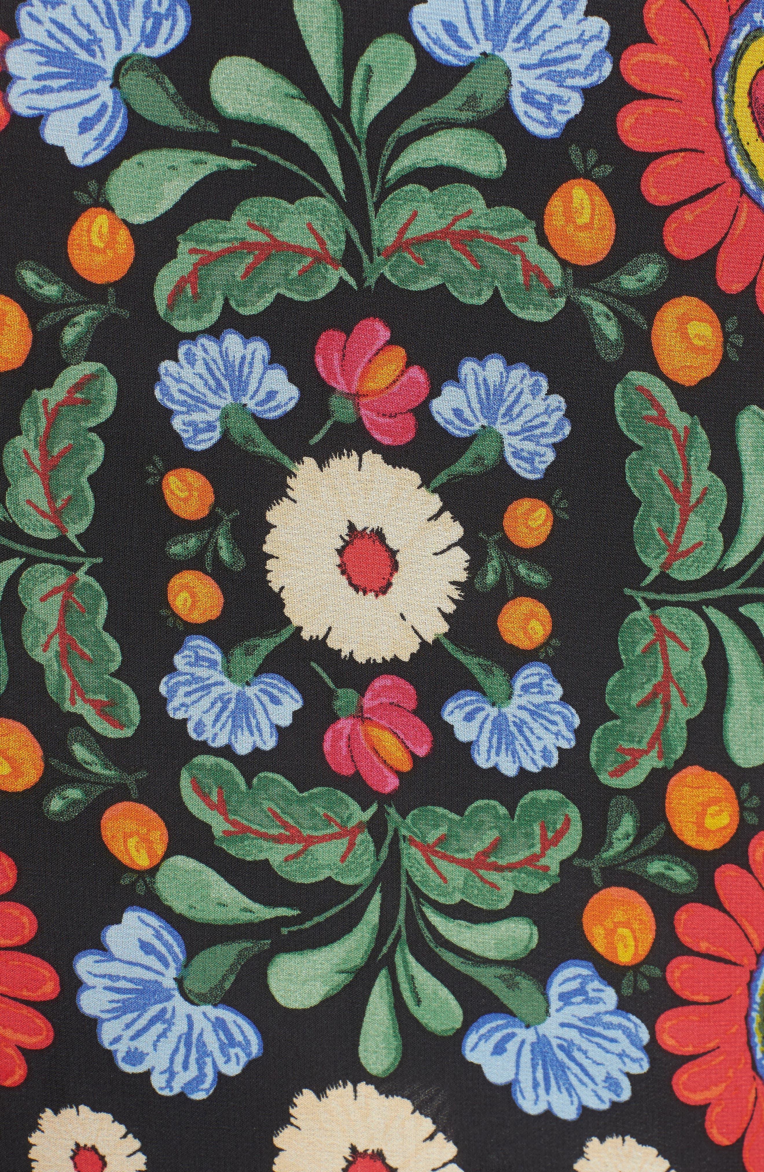 Mick Double Slit Skirt,                             Alternate thumbnail 5, color,                             600