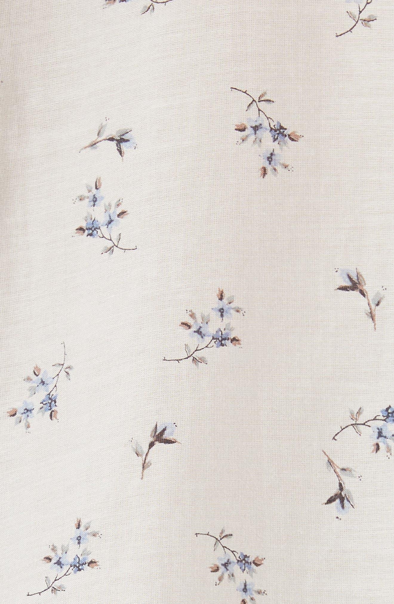 Floral Spring Blouse,                             Alternate thumbnail 5, color,                             103