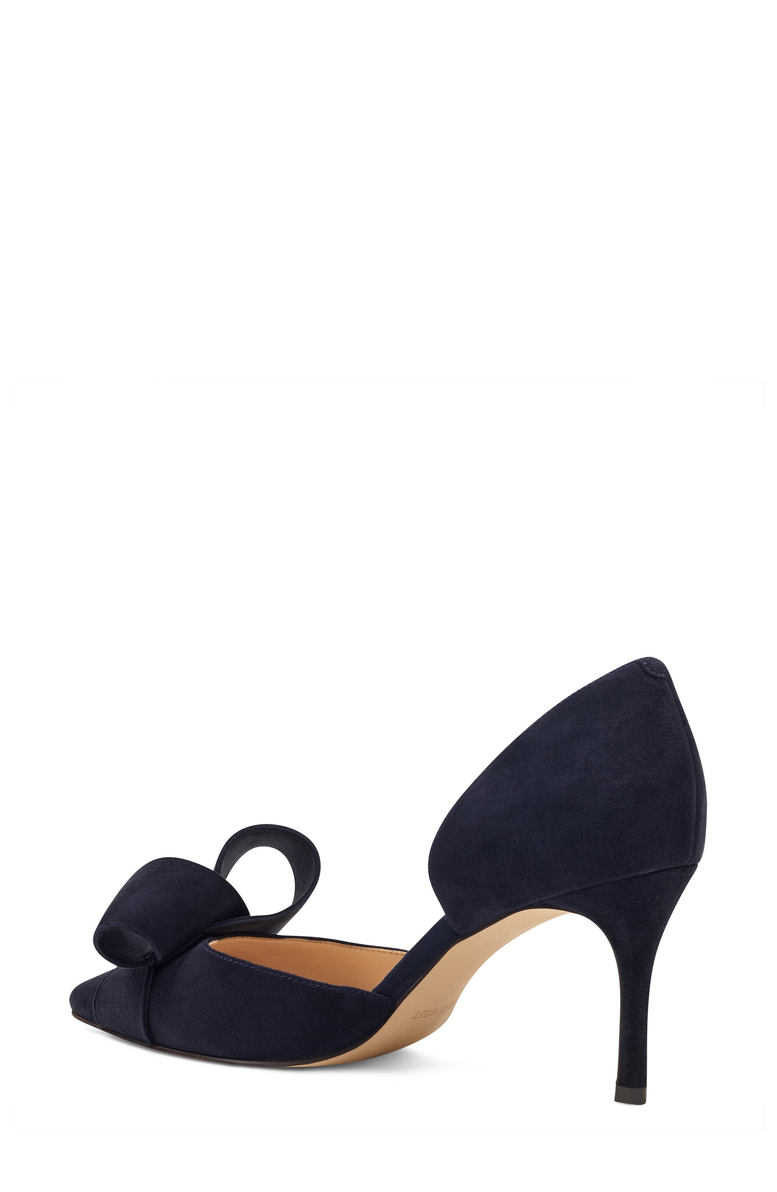 McFally d'Orsay Pump,                             Alternate thumbnail 2, color,                             NAVY SUEDE
