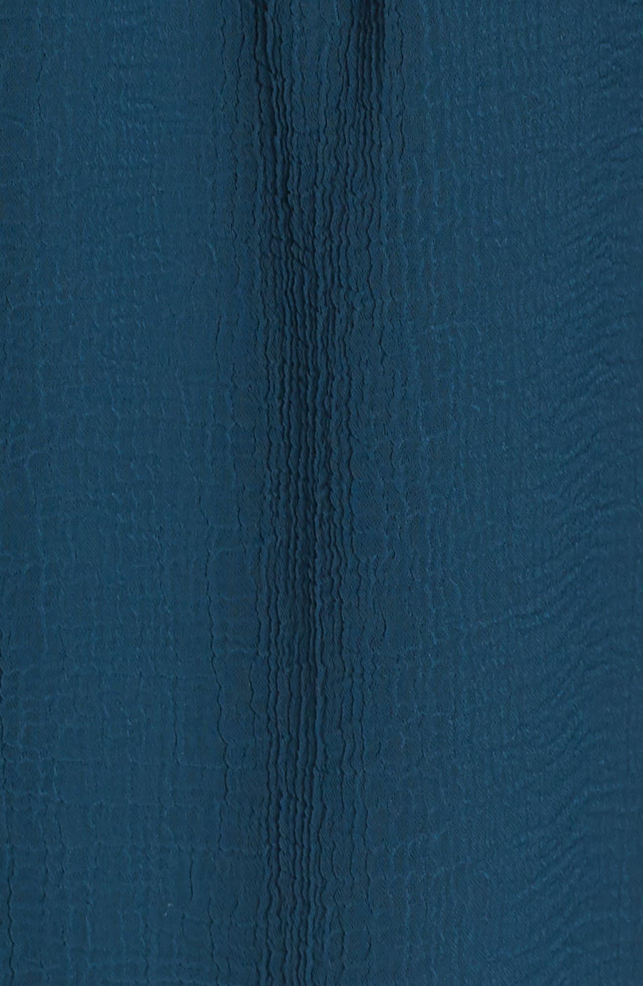 Bishop Sleeve Blouson Dress,                             Alternate thumbnail 6, color,                             441