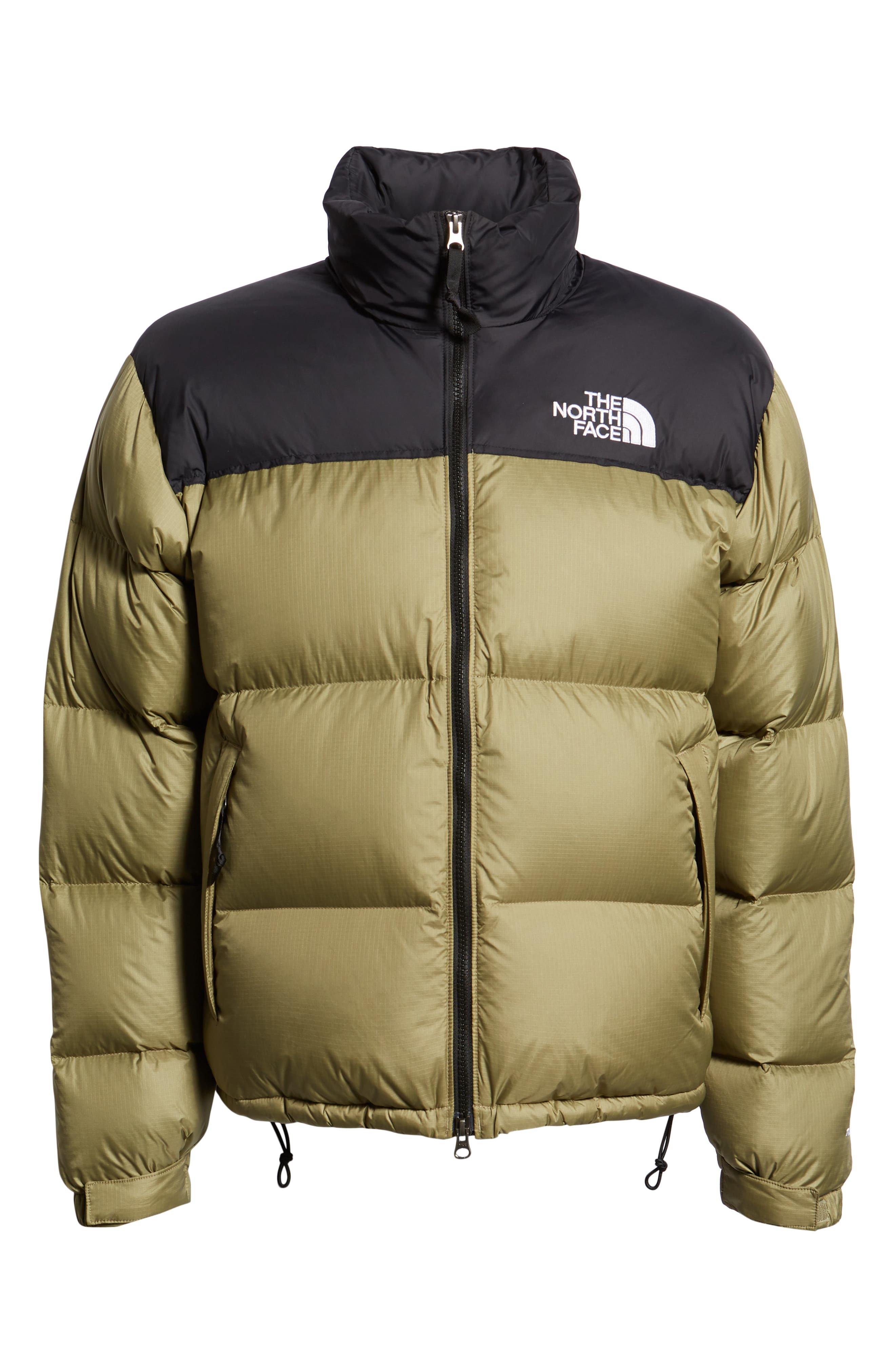 Nuptse 1996 Packable Quilted Down Jacket,                             Alternate thumbnail 6, color,                             TUMBLEWEED GREEN