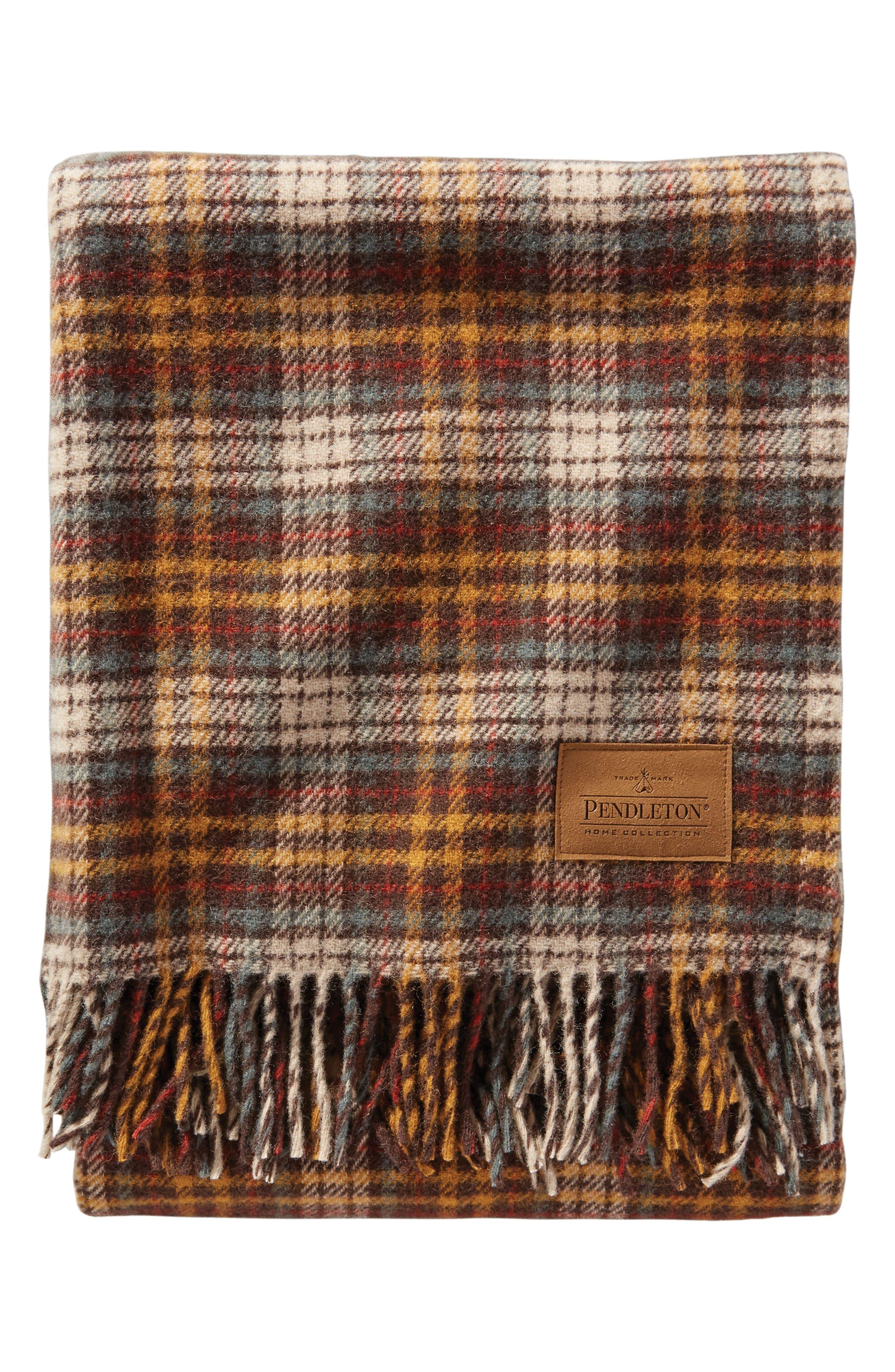 Wool Motor Robe,                             Main thumbnail 1, color,                             WHISKEY CREEK