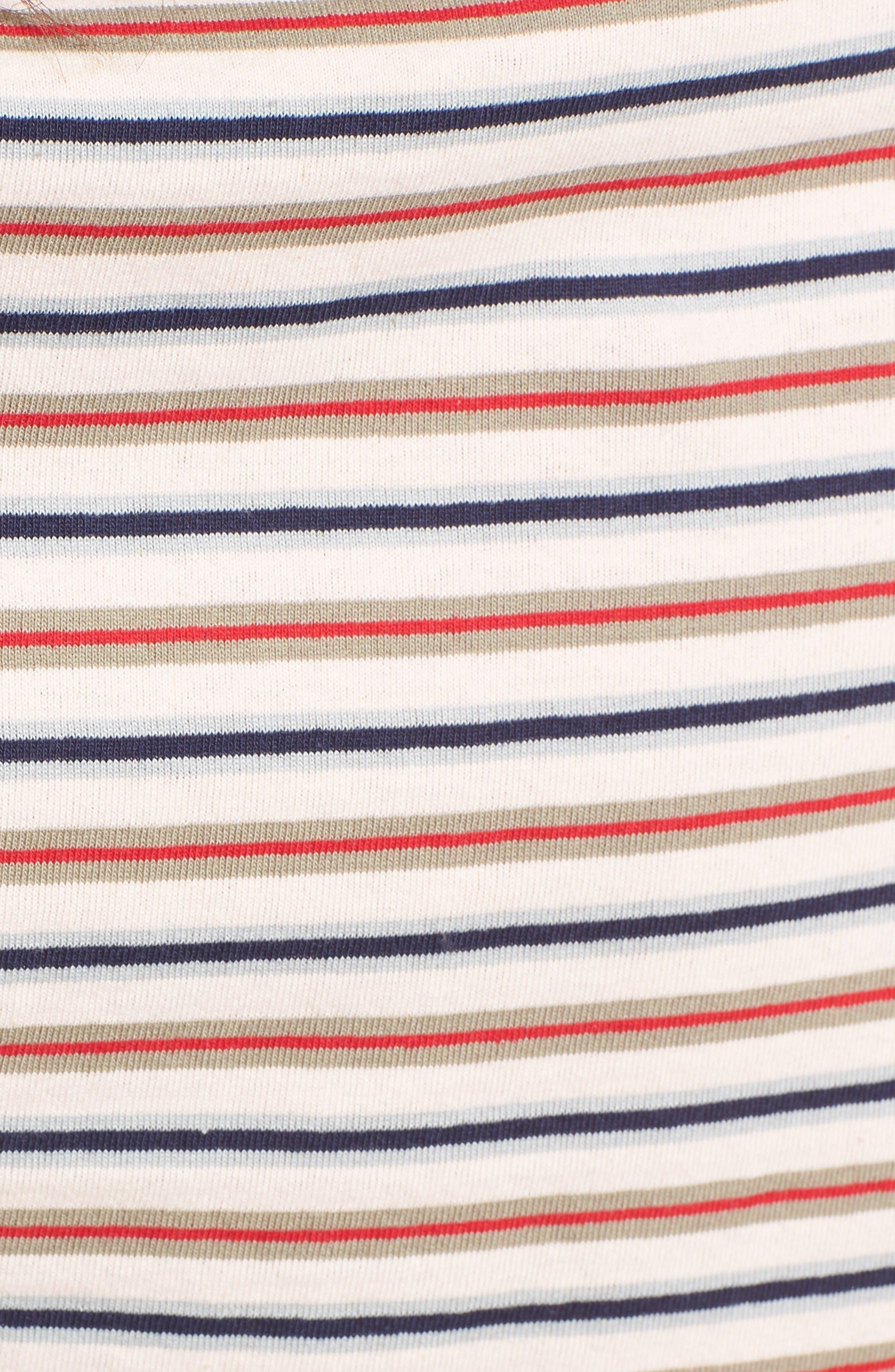 Stripe Crop Tee,                             Alternate thumbnail 14, color,