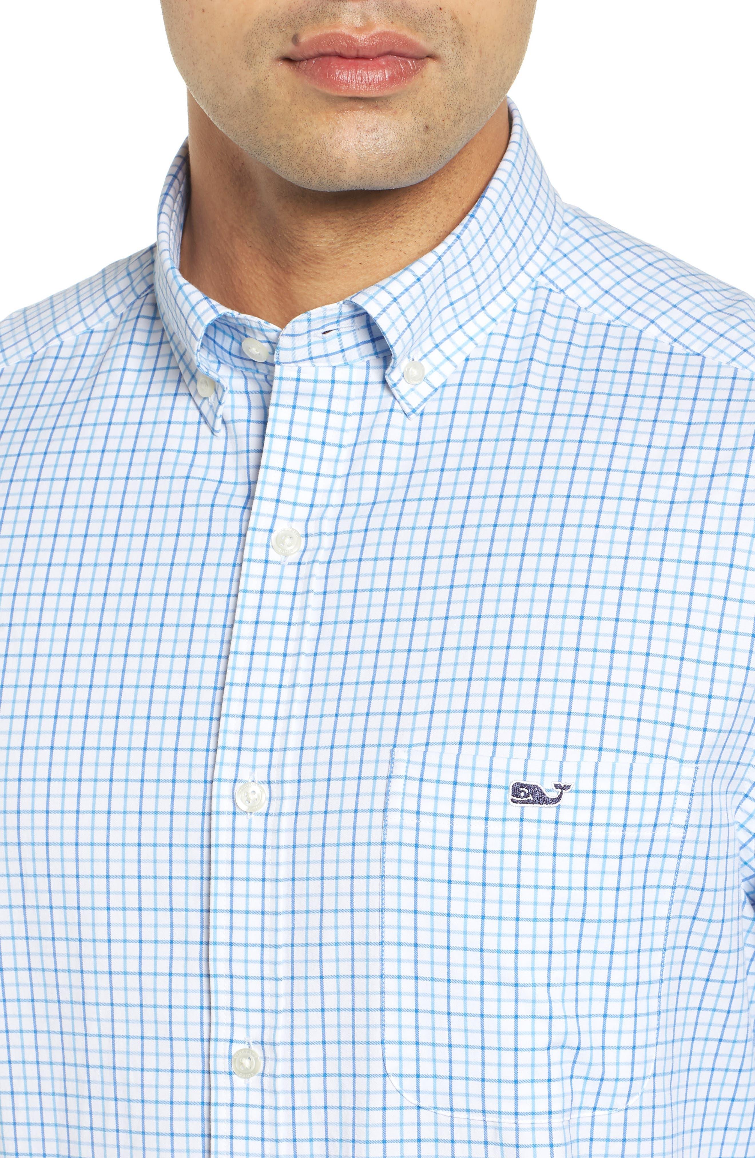 Pepperbush Regular Fit Plaid Sport Shirt,                             Alternate thumbnail 2, color,                             427