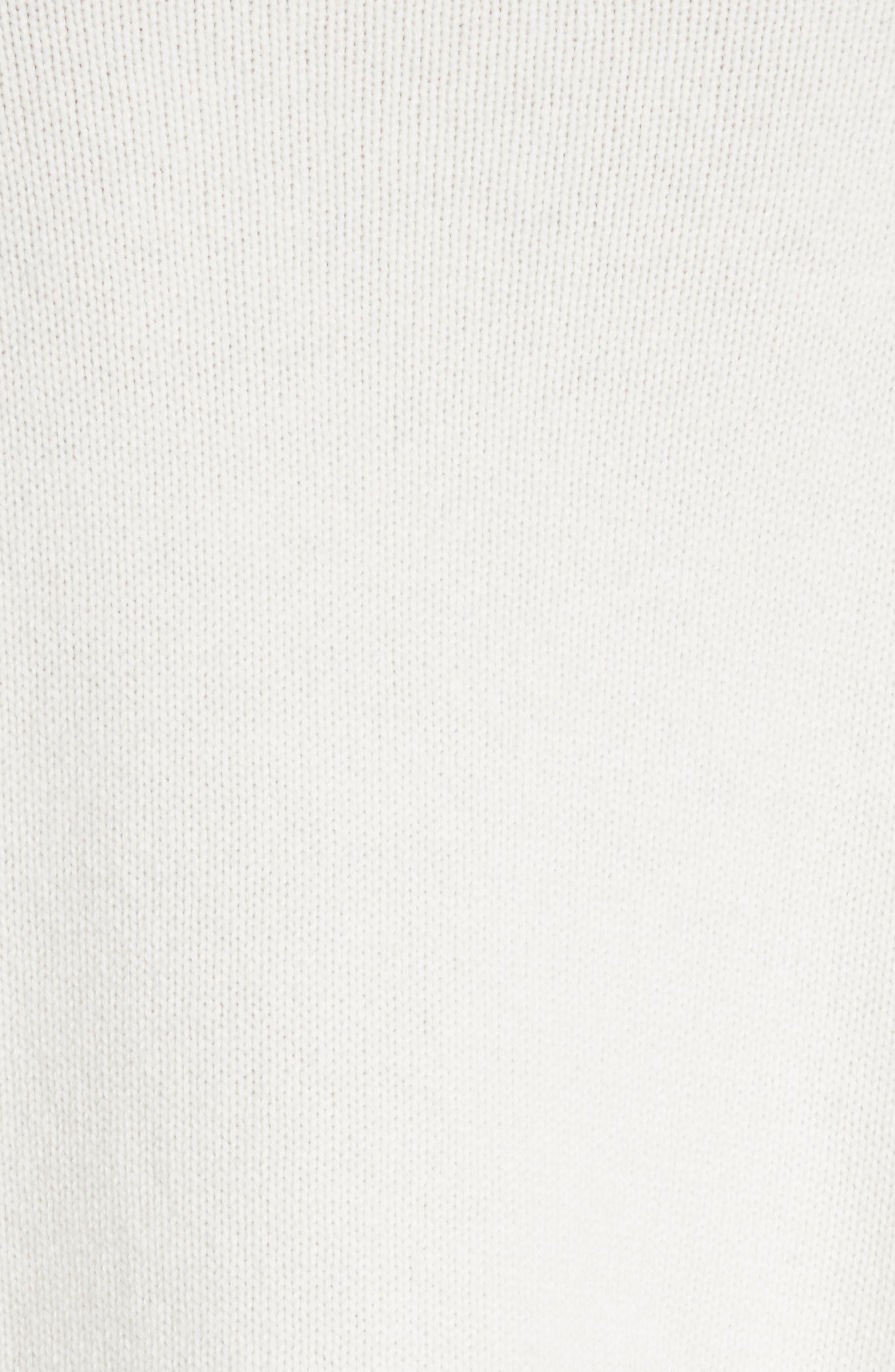 Aubree Funnel Neck Cashmere Sweater,                             Alternate thumbnail 5, color,                             908