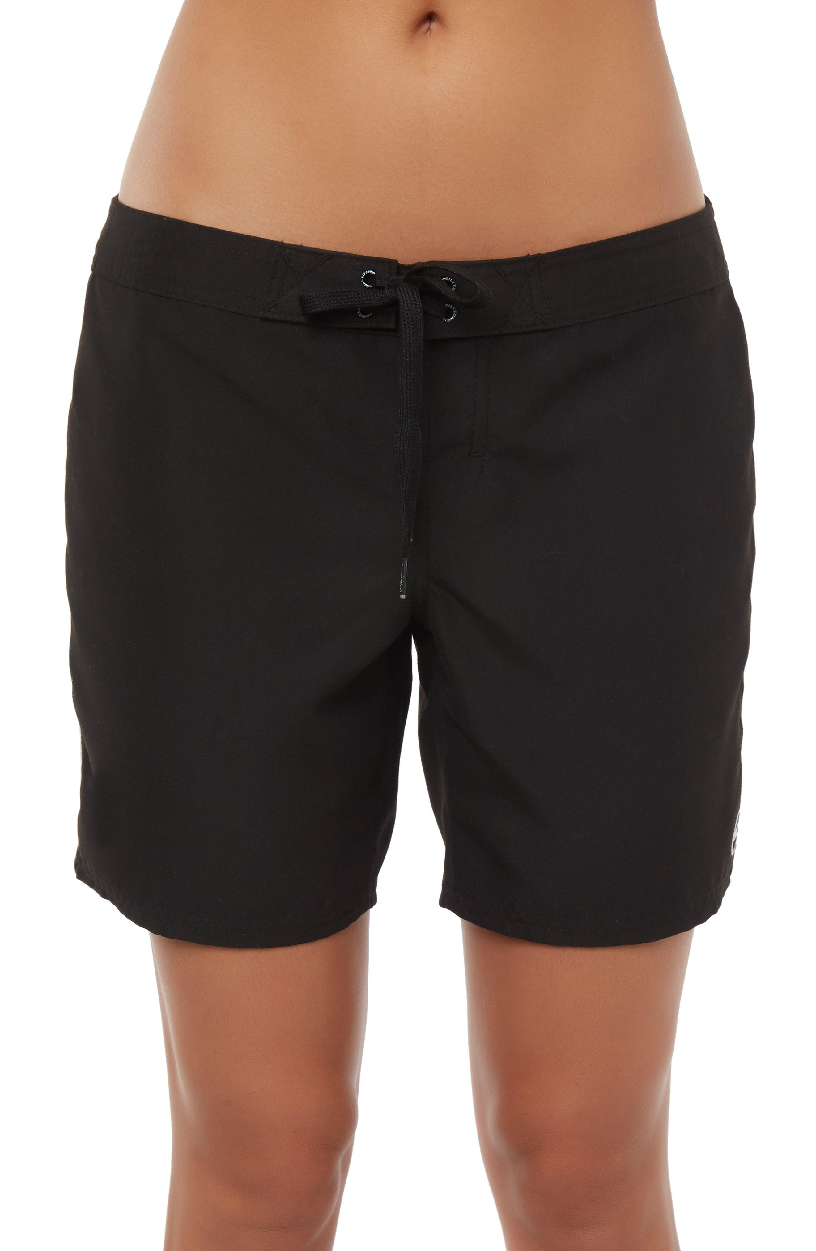 Salt Water Board Shorts,                             Main thumbnail 1, color,                             BLACK