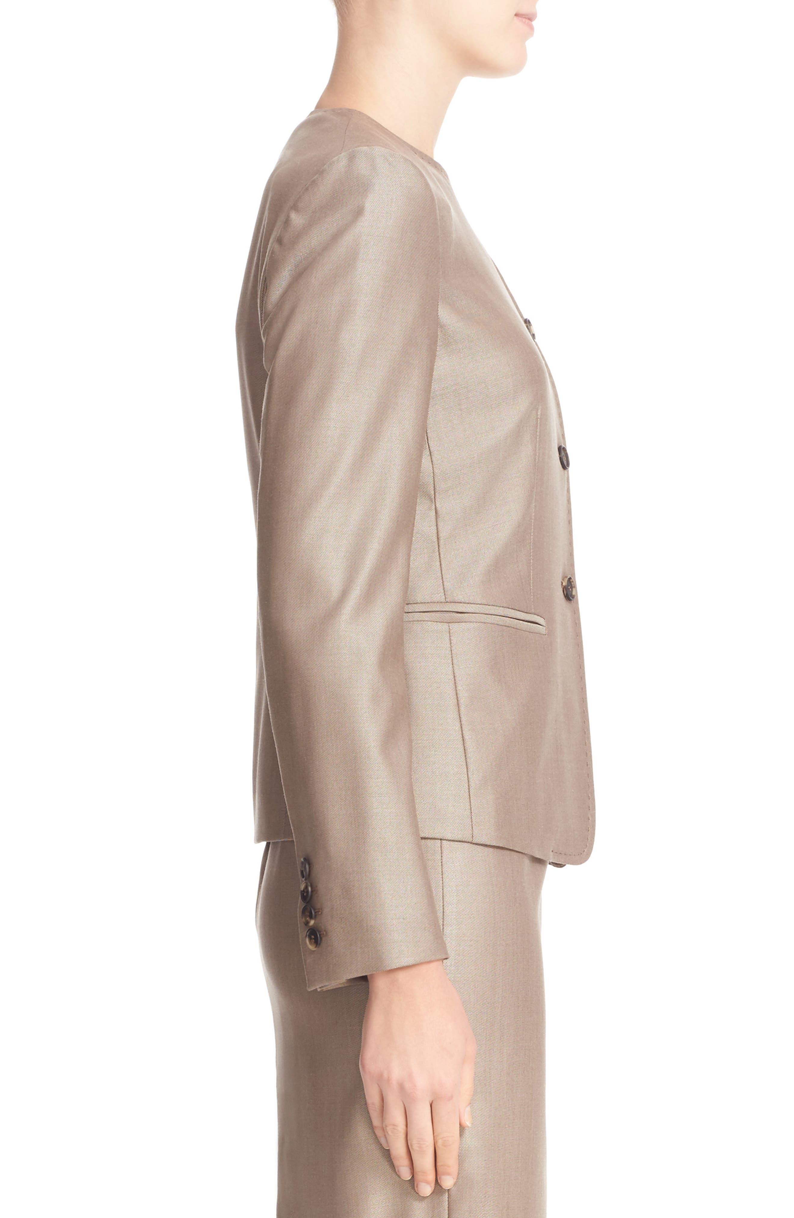 Erba Asymmetrical Jacket,                             Alternate thumbnail 4, color,                             220