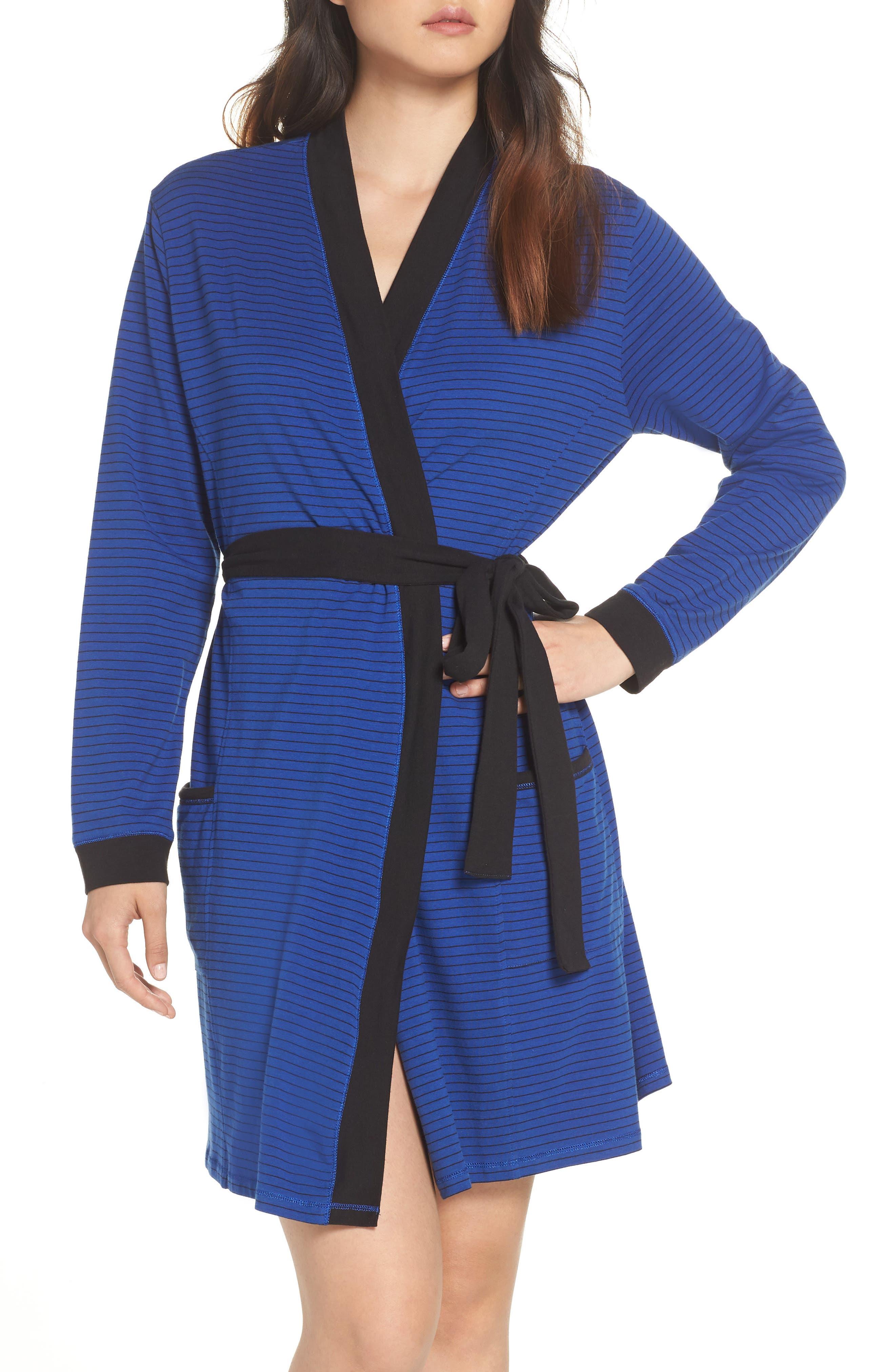 Power Stripe Robe,                             Main thumbnail 1, color,                             408