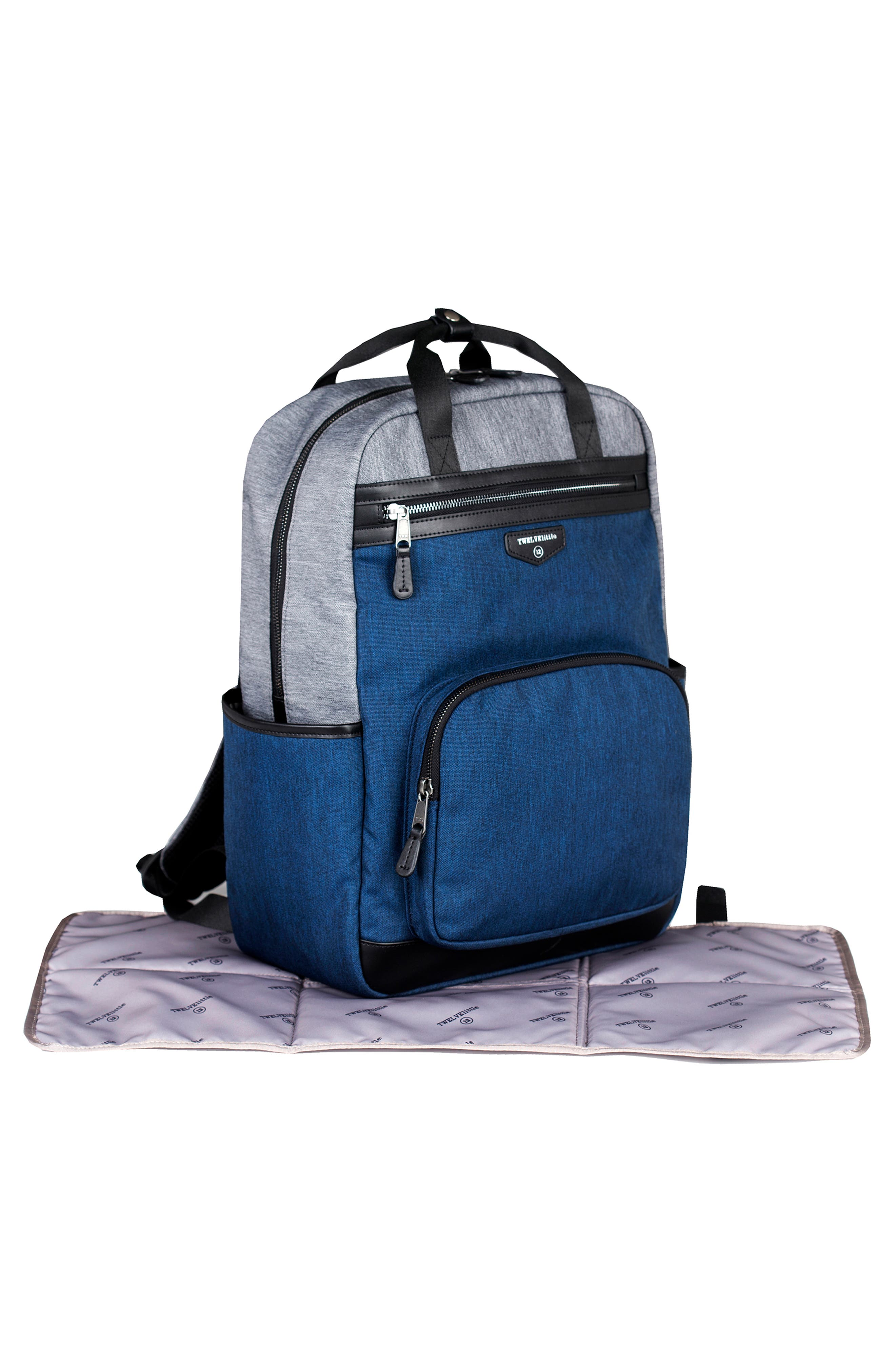 'Courage' Unisex Backpack Diaper Bag,                             Alternate thumbnail 3, color,                             020