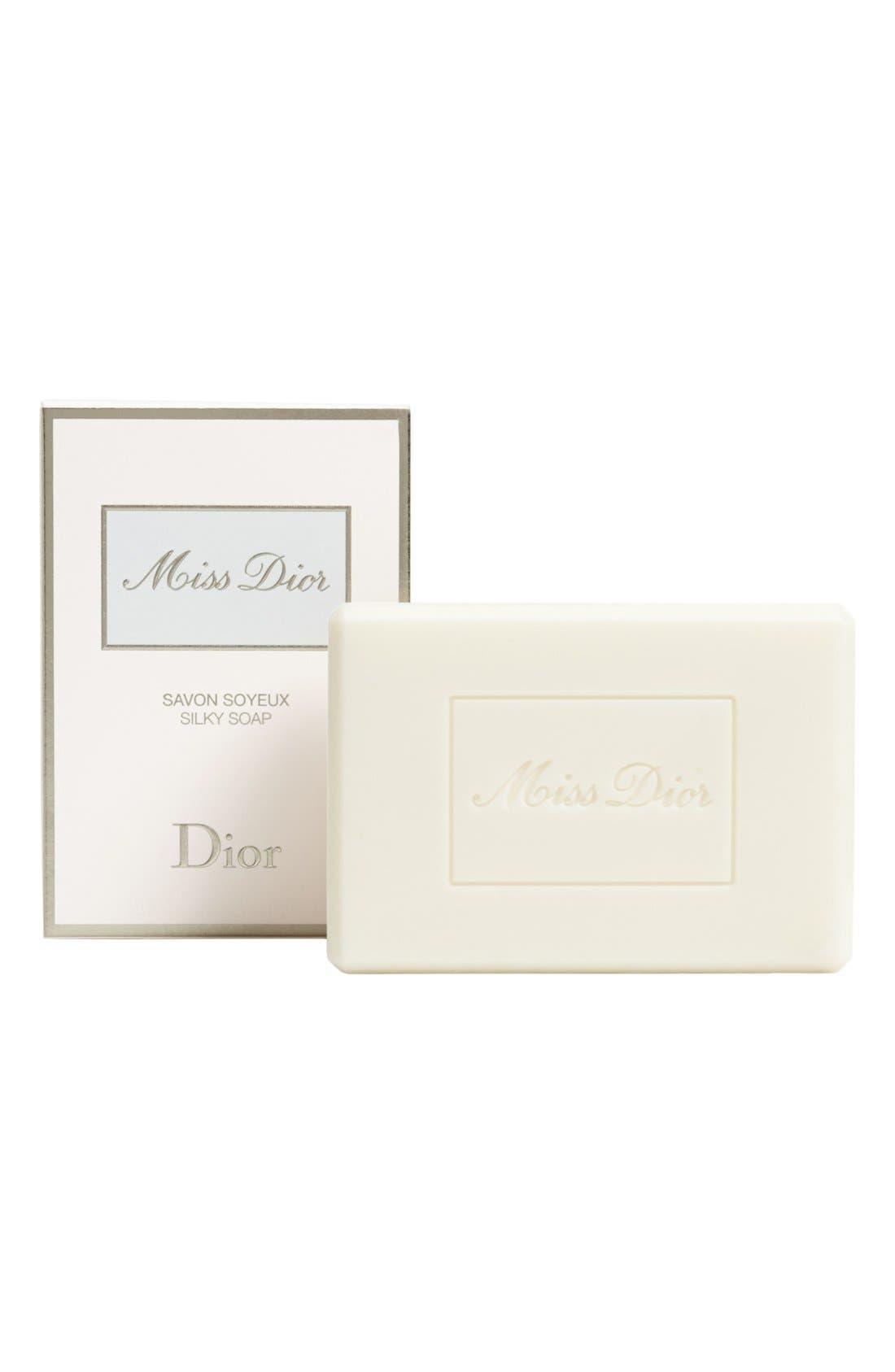 'Miss Dior' Silky Soap,                             Main thumbnail 1, color,                             NO COLOR