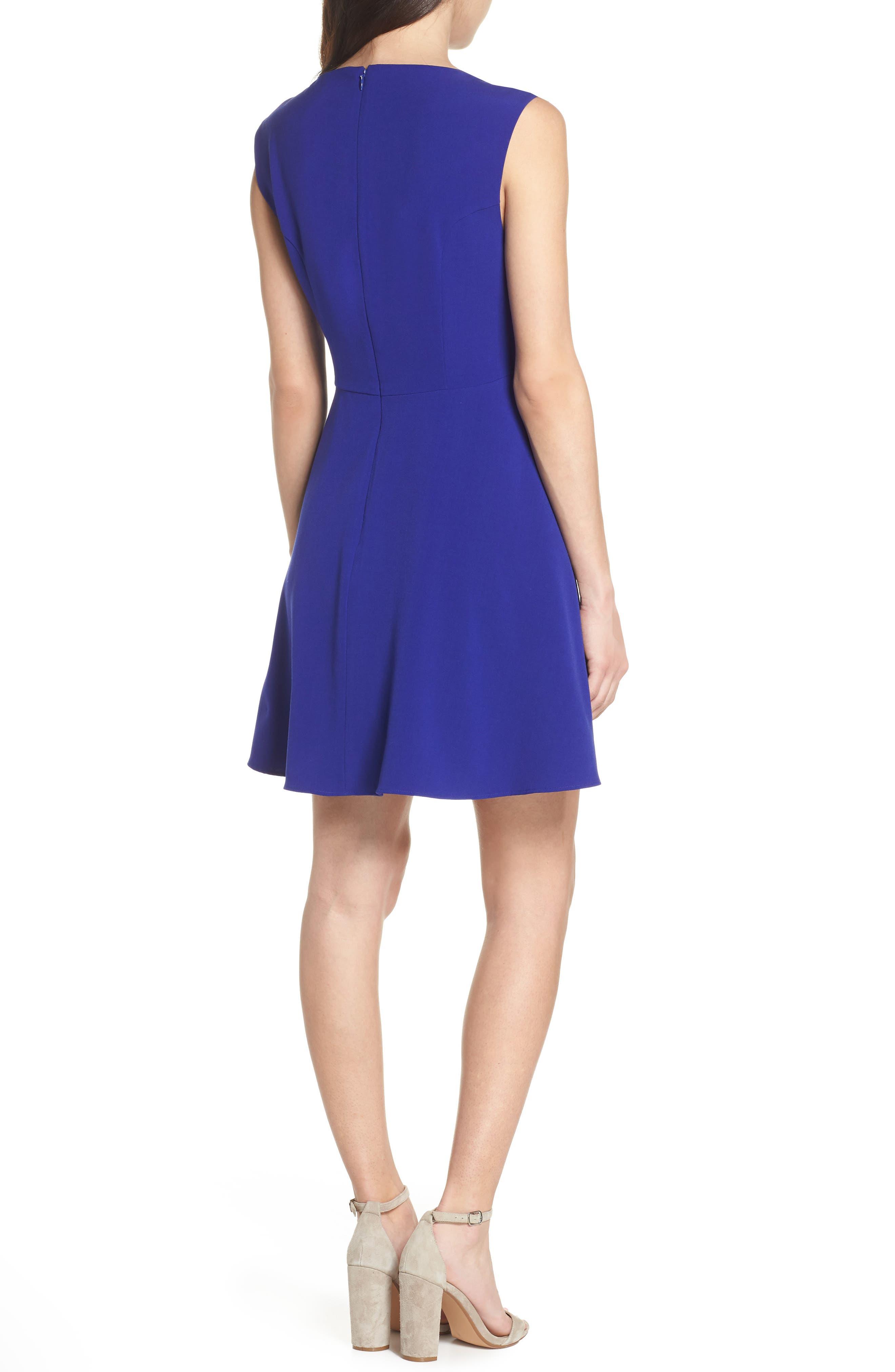 Whisper Ruth Fit & Flare Dress,                             Alternate thumbnail 2, color,                             405