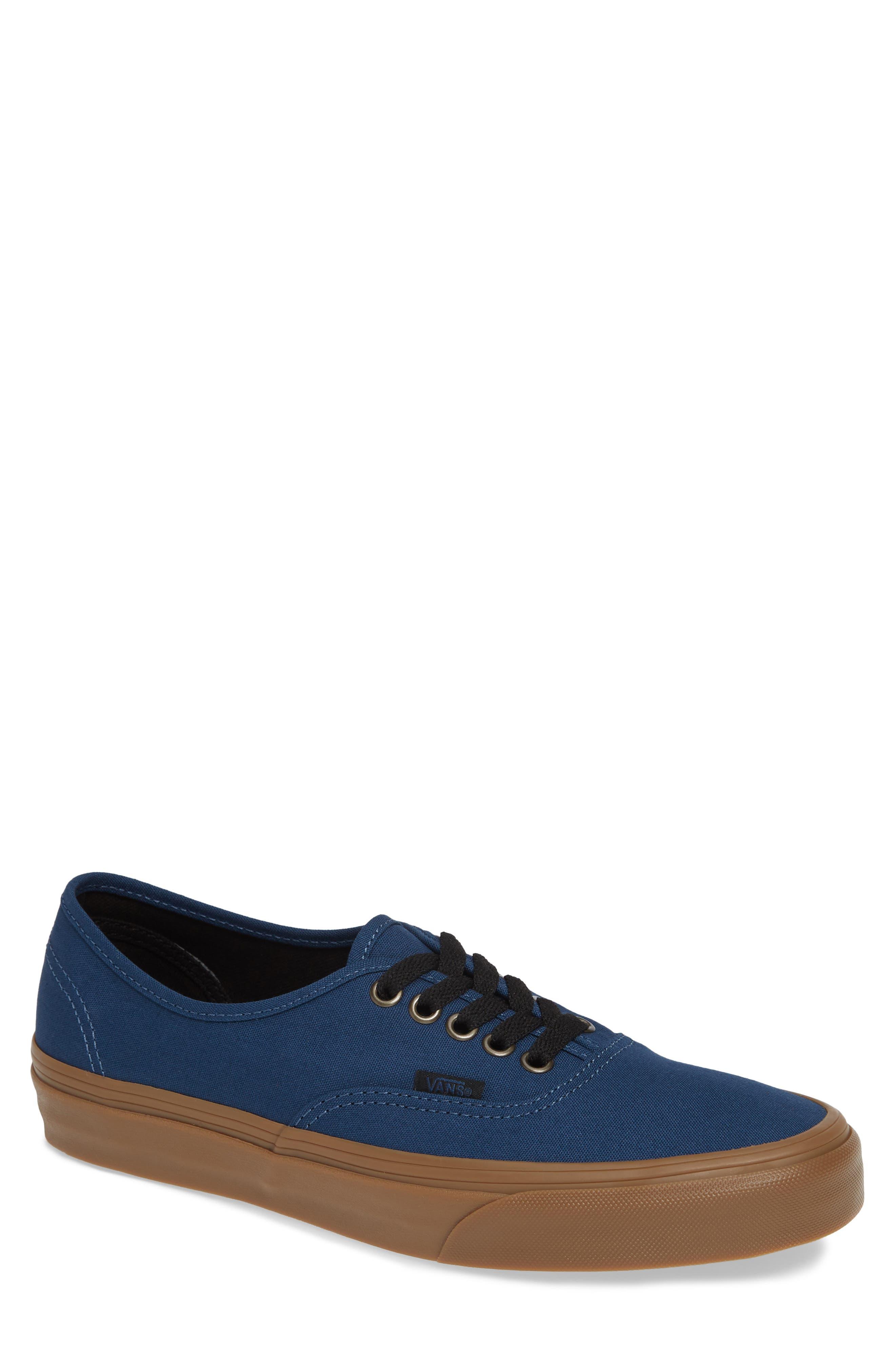 VANS,                             Authentic Gum Outsole Sneaker,                             Main thumbnail 1, color,                             401