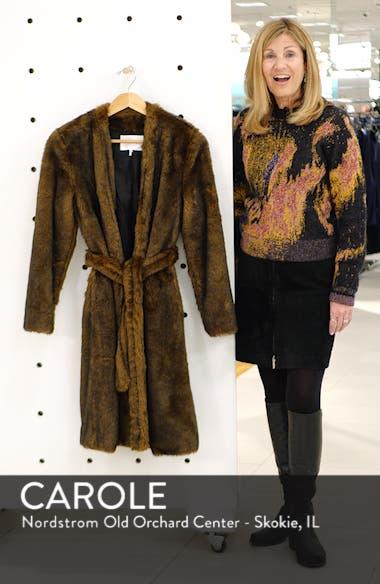 Faux Mink Fur Robe Coat, sales video thumbnail