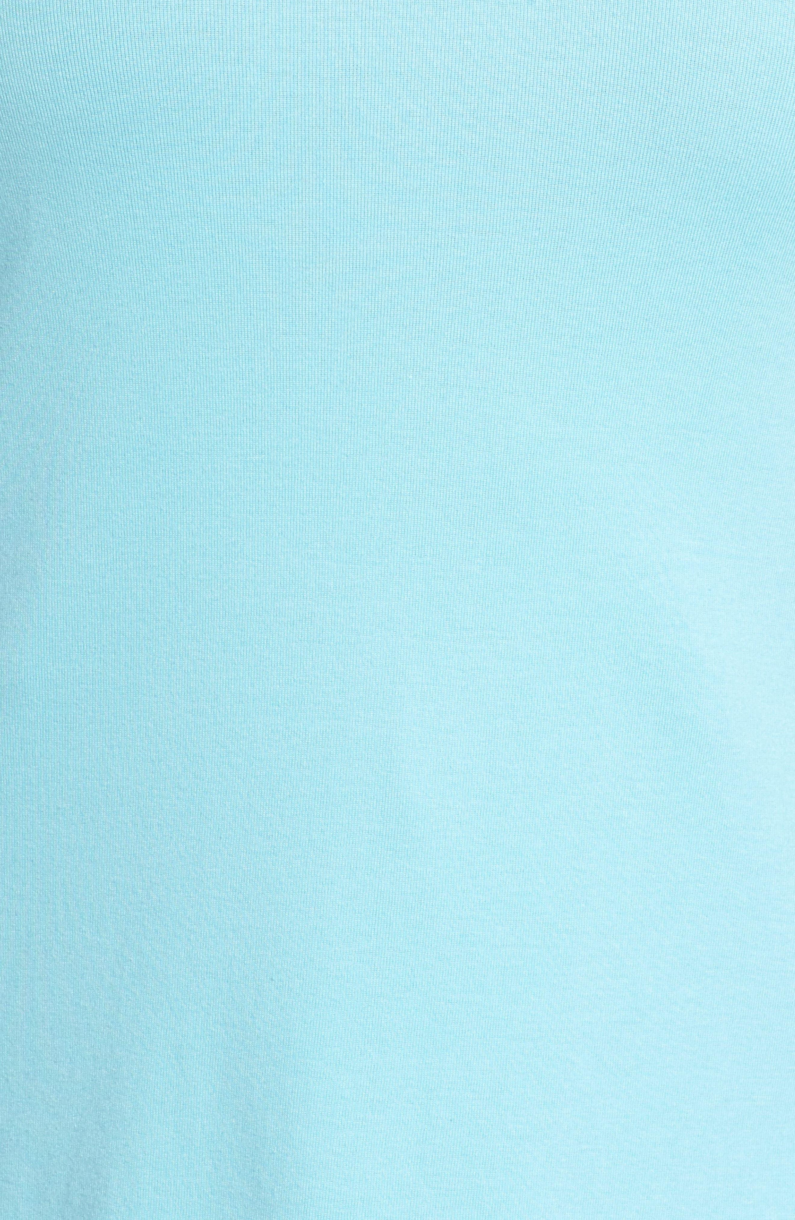 Short Sleeve V-Neck Tee,                             Alternate thumbnail 154, color,