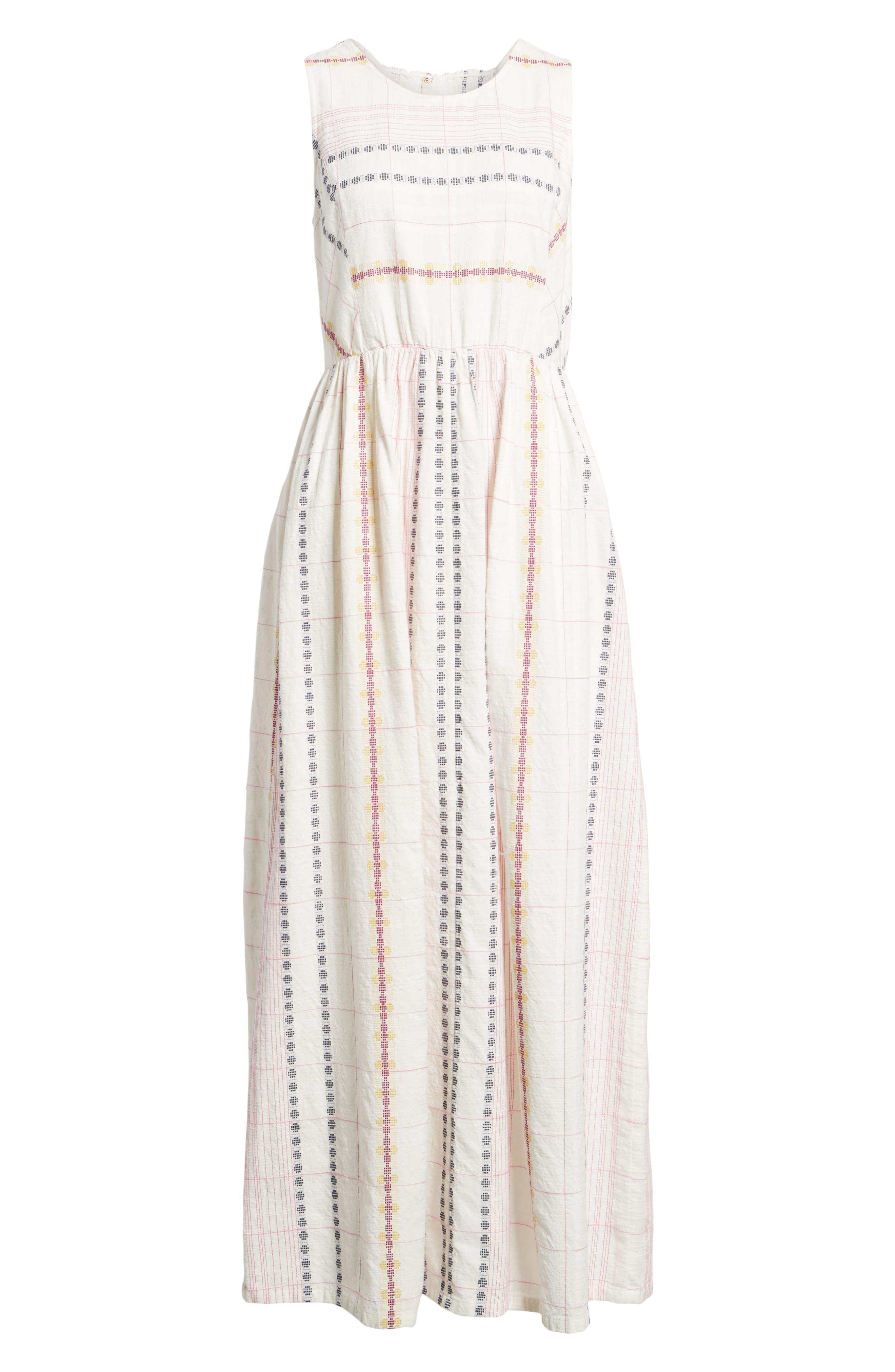 Smocked Back Maxi Dress,                             Alternate thumbnail 6, color,