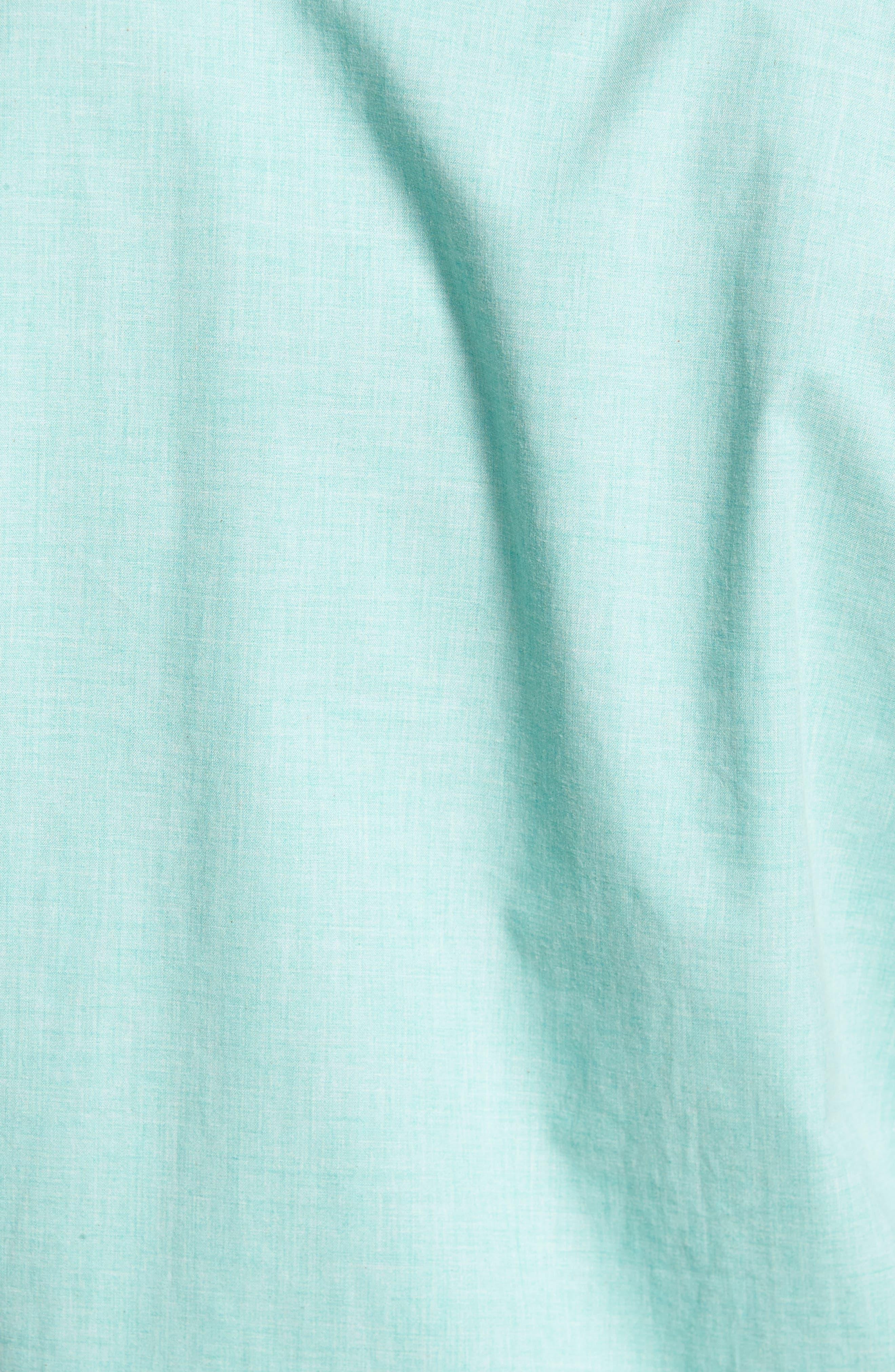Heather Classic Fit No-Iron Sport Shirt,                             Alternate thumbnail 5, color,                             328