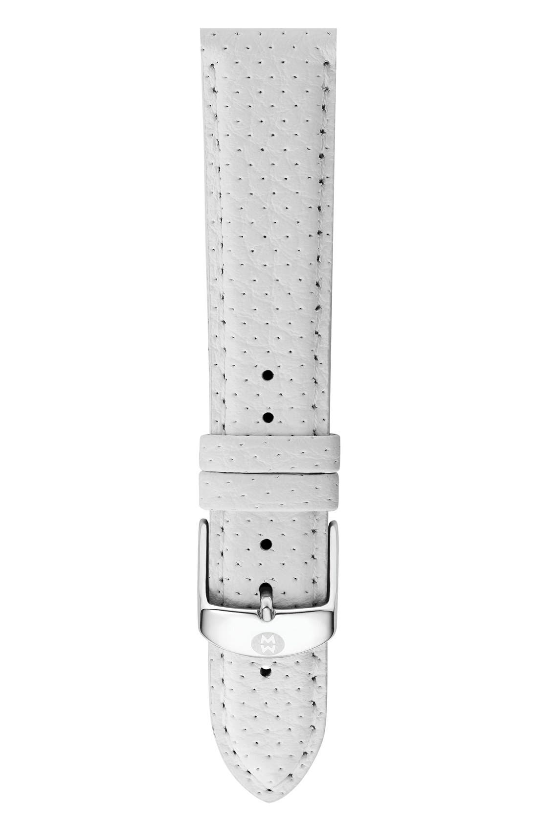 16mm Leather Watch Strap,                             Main thumbnail 7, color,