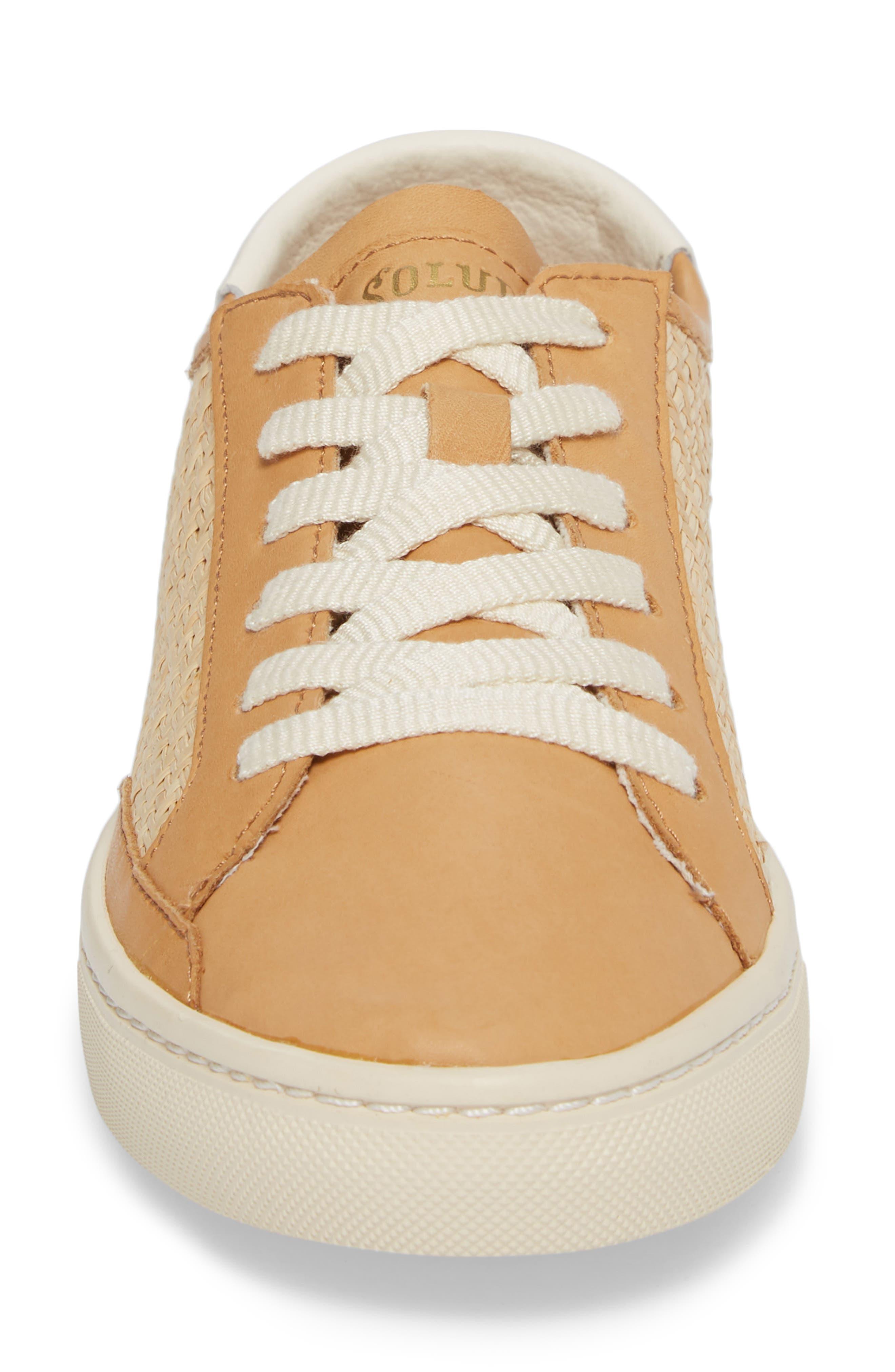 Ibiza Raffia Sneaker,                             Alternate thumbnail 4, color,                             250
