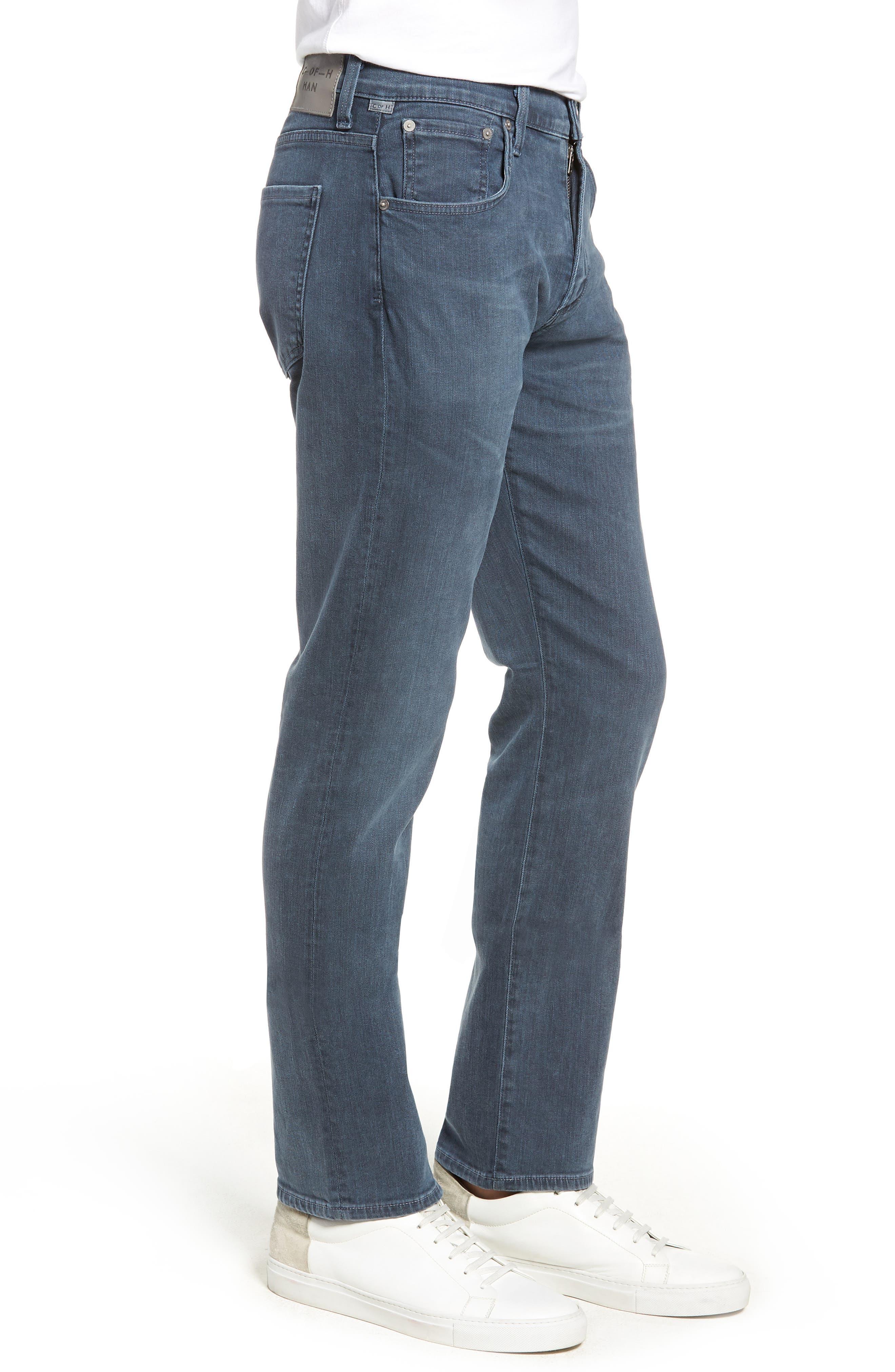 Gage Slim Straight Leg Jeans,                             Alternate thumbnail 3, color,                             SORRENTO