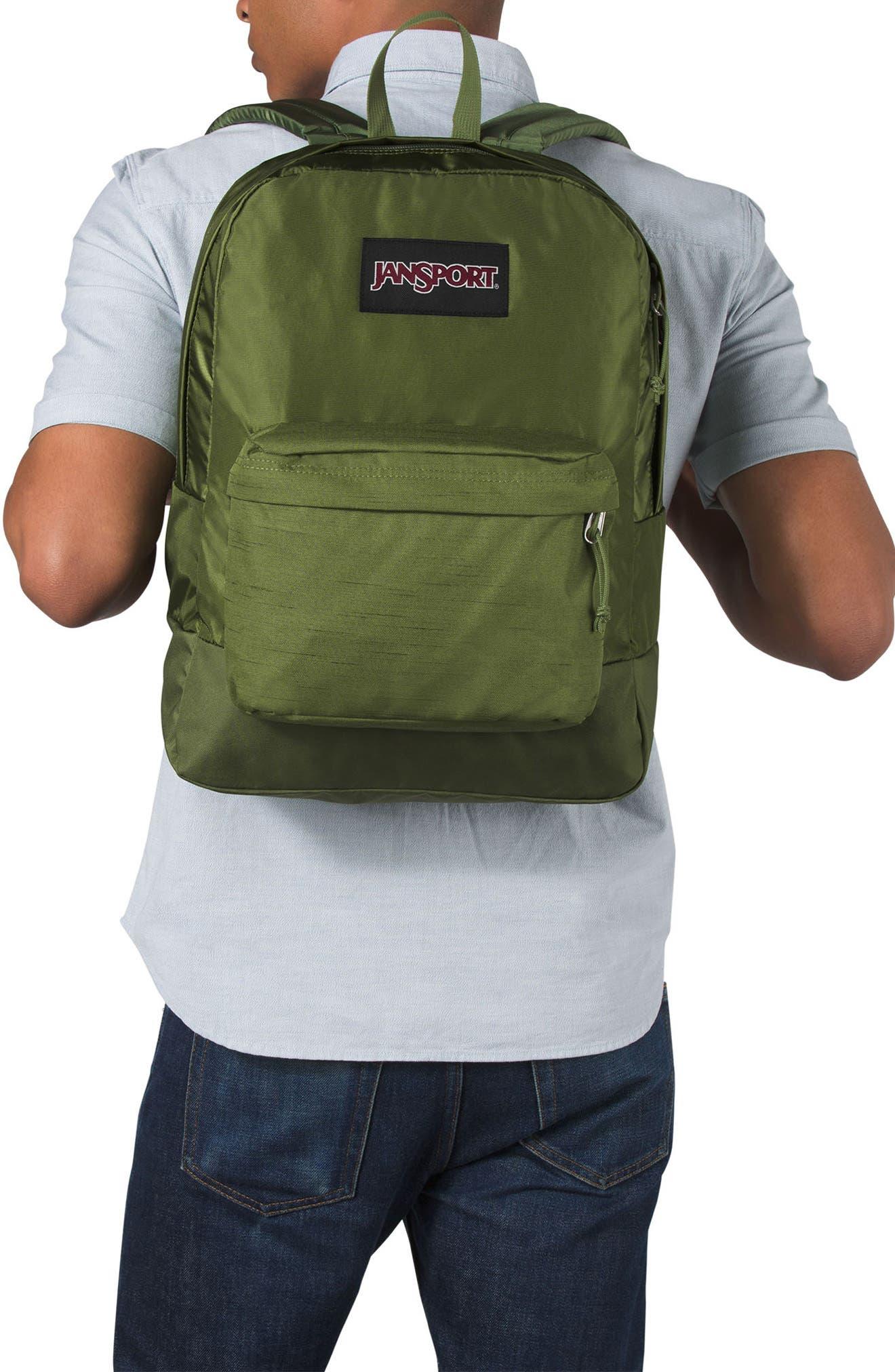 Black Label Superbreak Backpack,                             Alternate thumbnail 2, color,                             NEW OLIVE