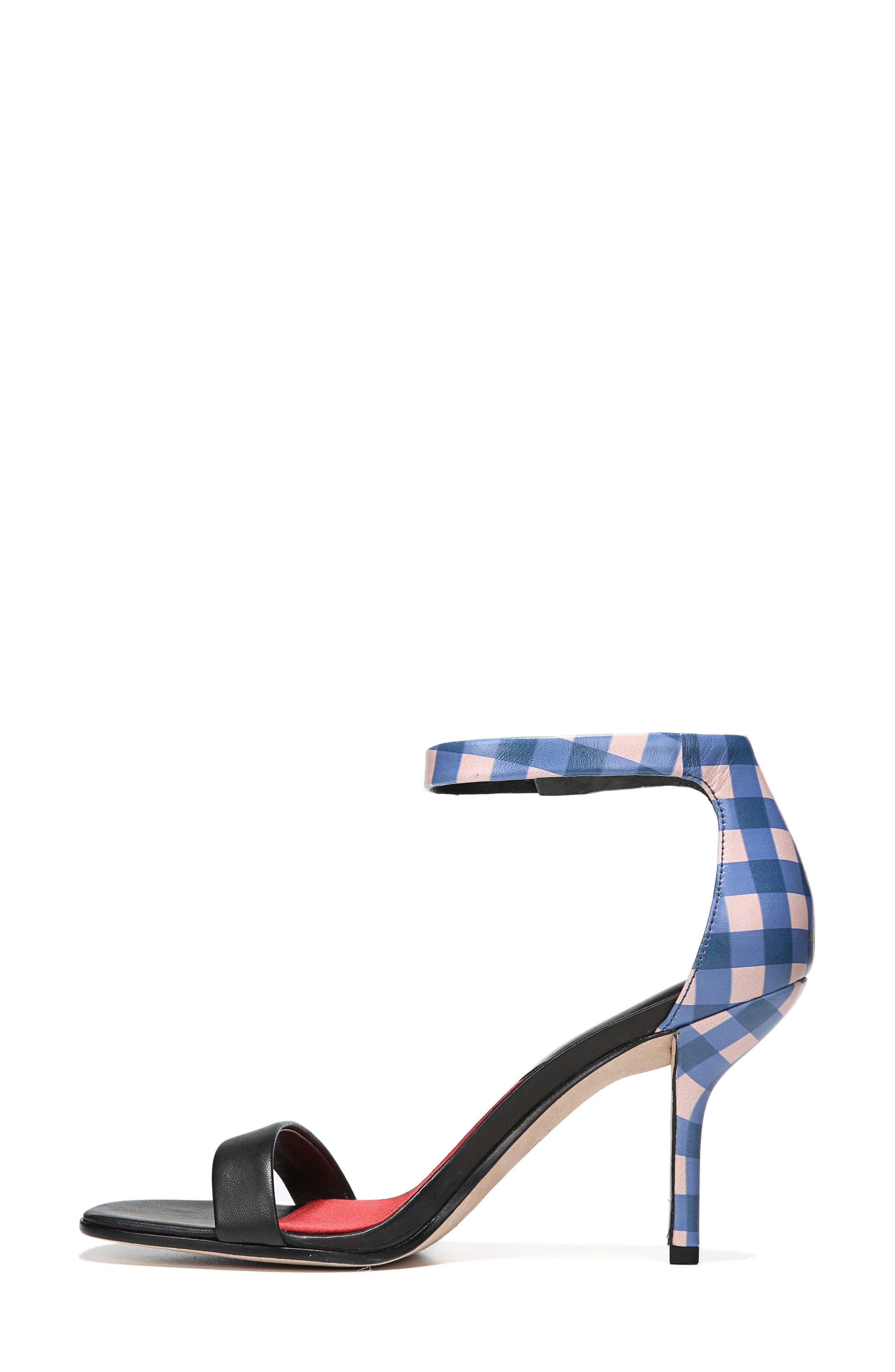 Ferrara Ankle Strap Sandal,                             Alternate thumbnail 3, color,                             001