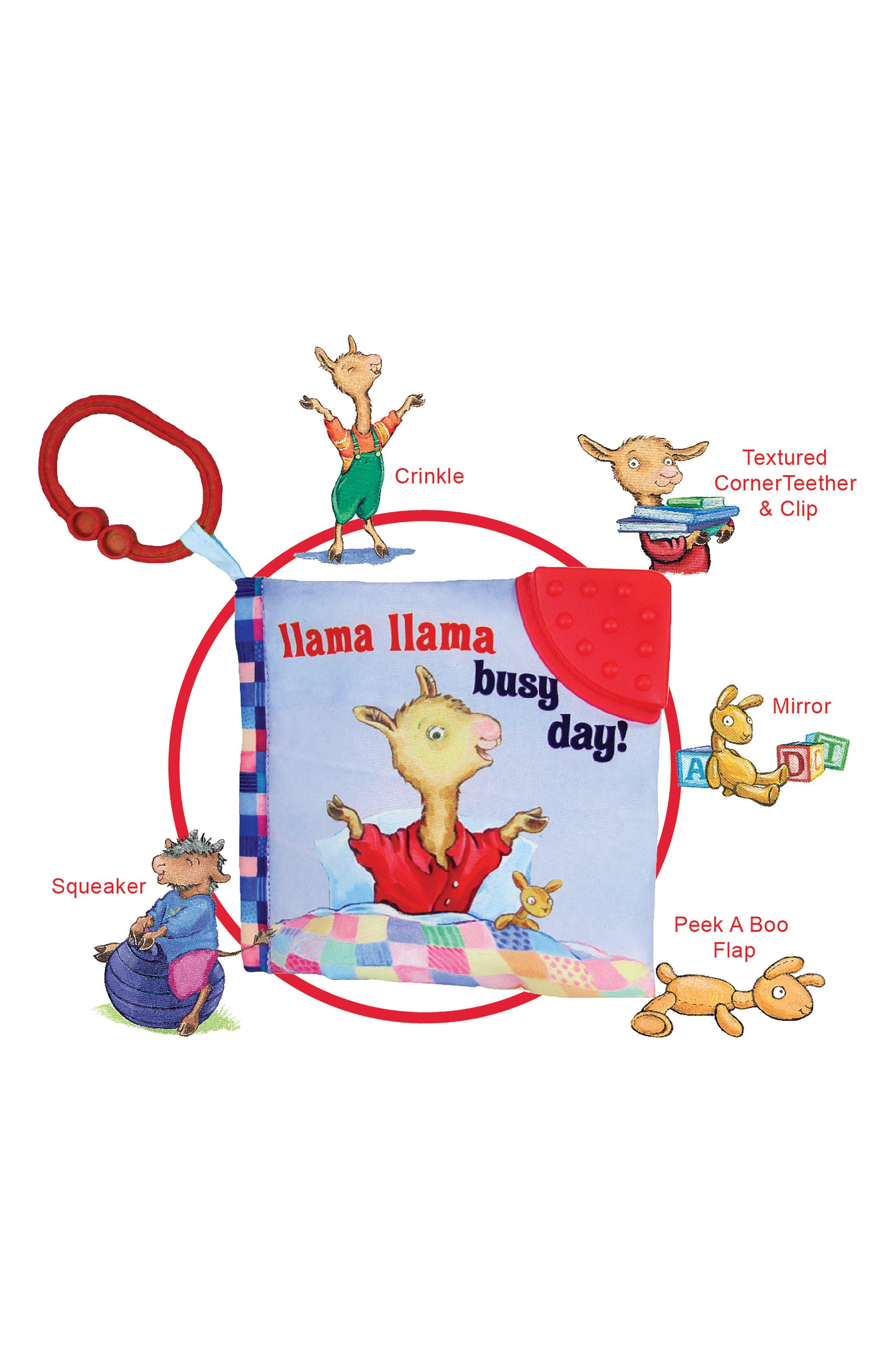 Llama Llama Busy Day Soft Book,                             Main thumbnail 1, color,                             400